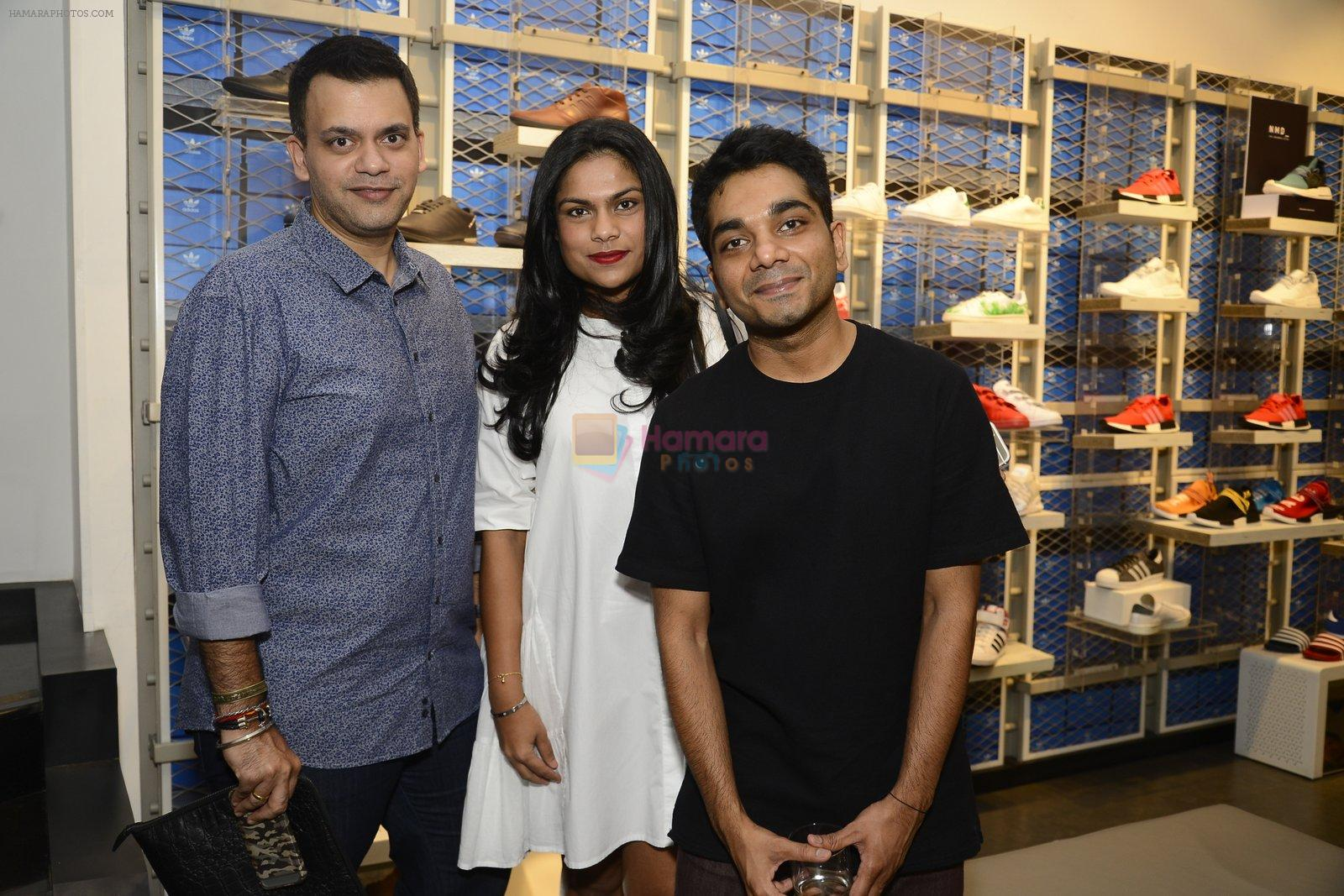 Nachiket Barve at Adidas Event in Mumbai on 30th Sept 2016