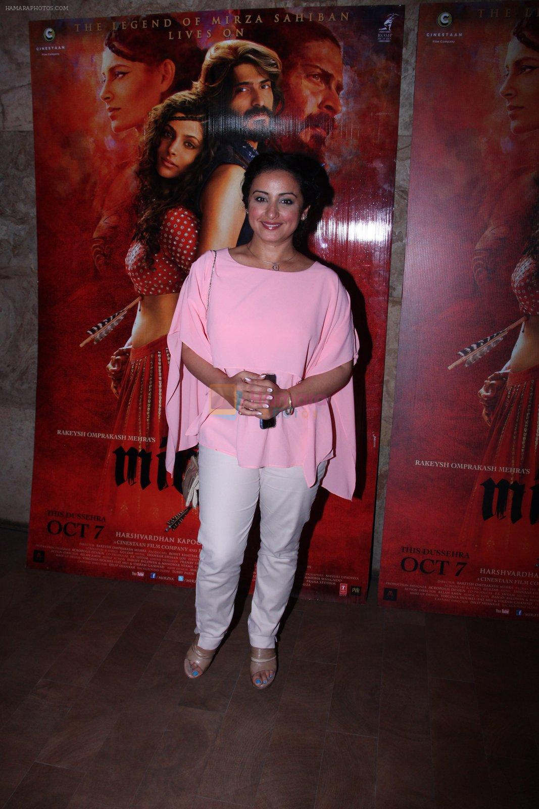 Divya Dutta at the screening of Mirzya on 1st Oct 2016