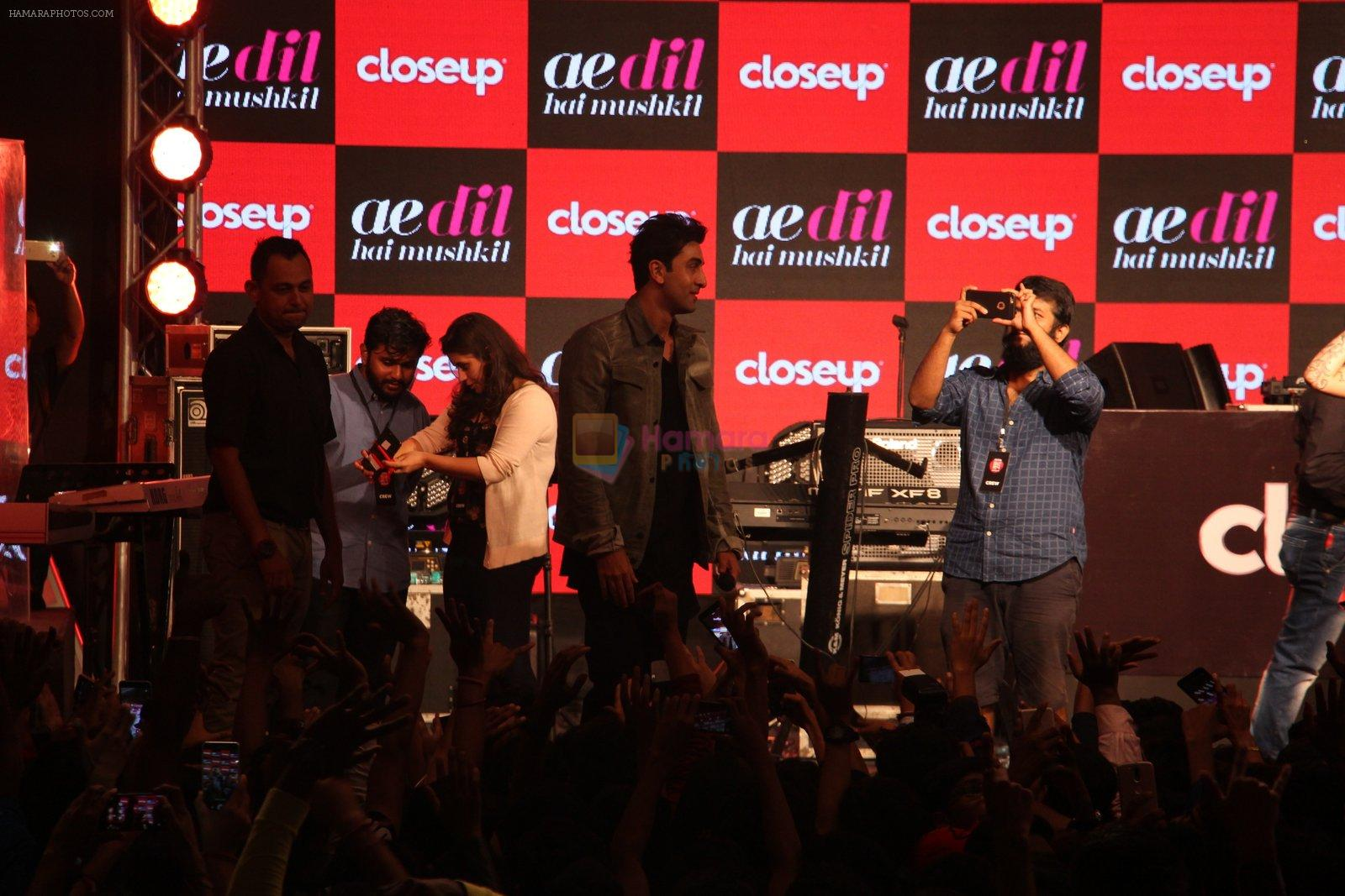 Ranbir Kapoor at close-up concert on 30th Sept 2016