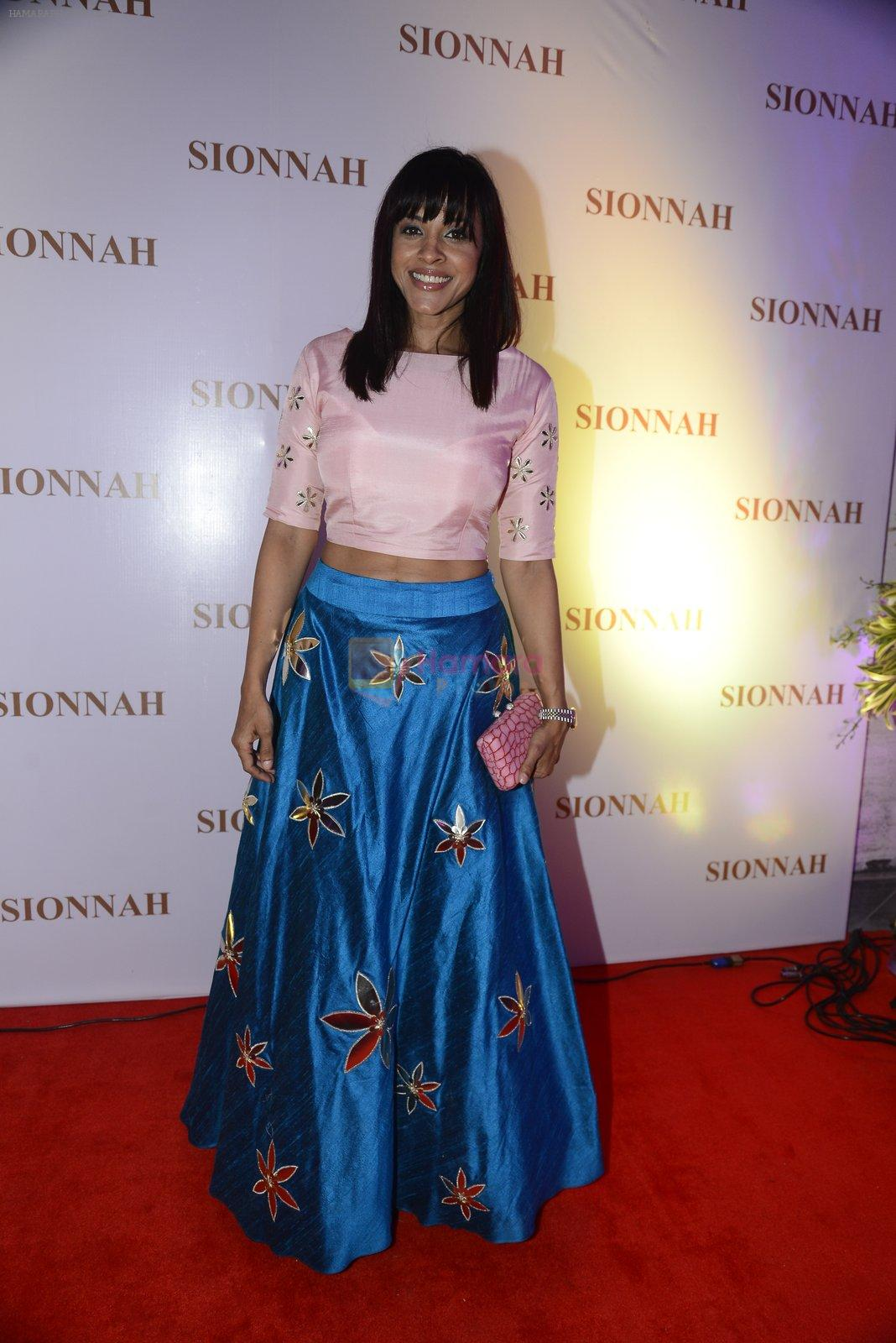 Manasi Scott at sionnah store launch on 1st Oct 2016