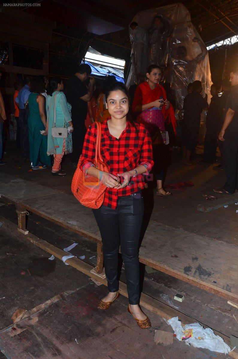 Sumona at Durga Pooja on 2nd Oct 2016