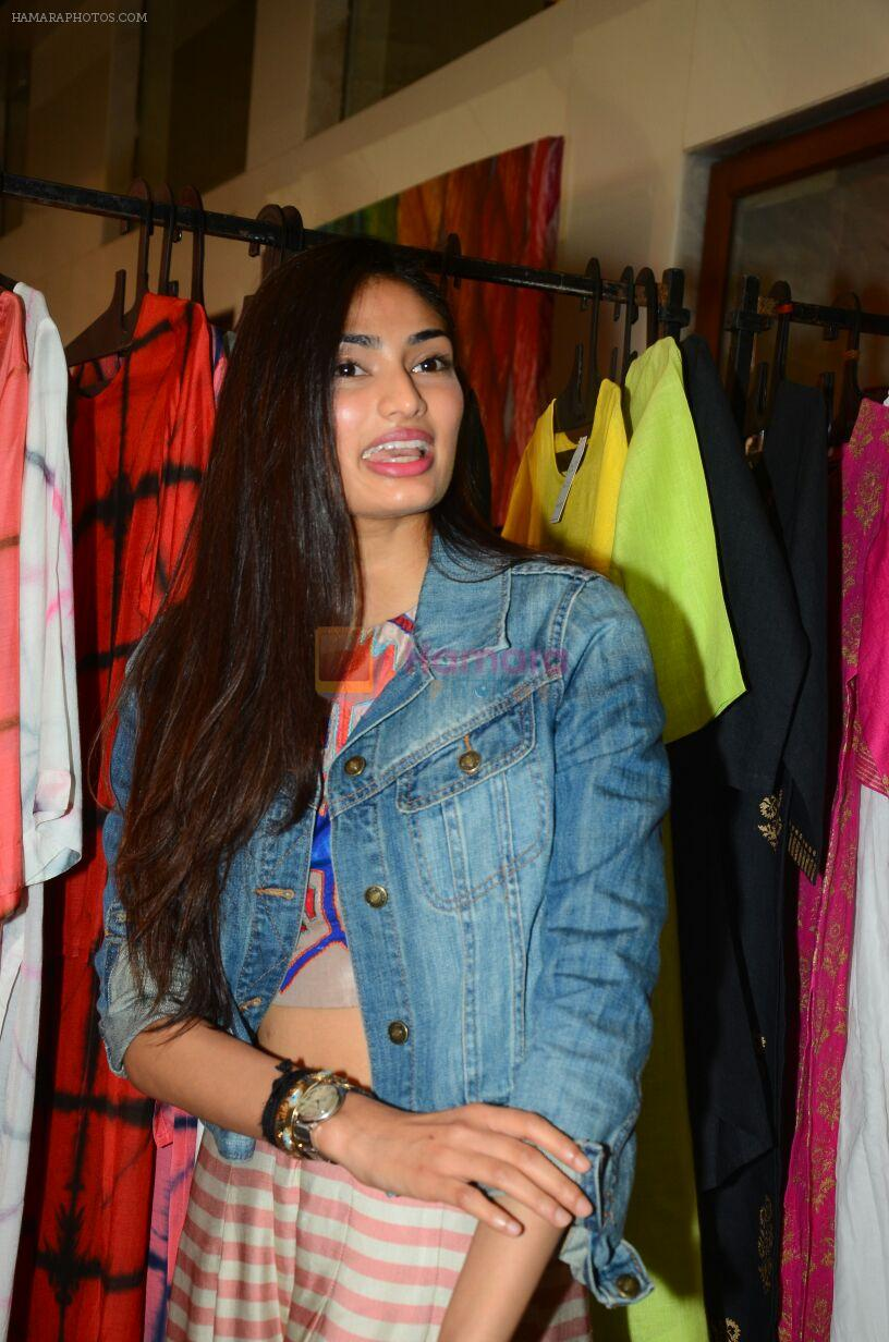 Athiya Shetty at aaraish exhibition