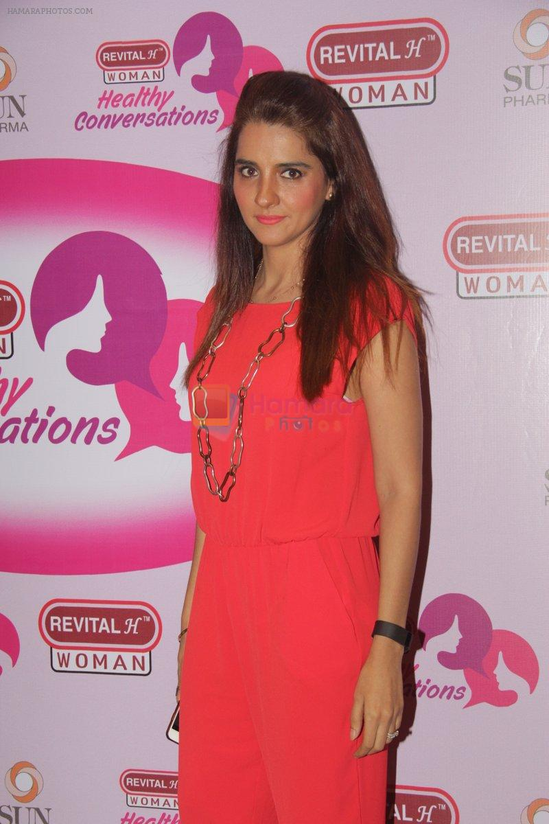 Shruti Seth at the Launch of Revital Woman's Healthy Conversations on 3rd Oct 2016