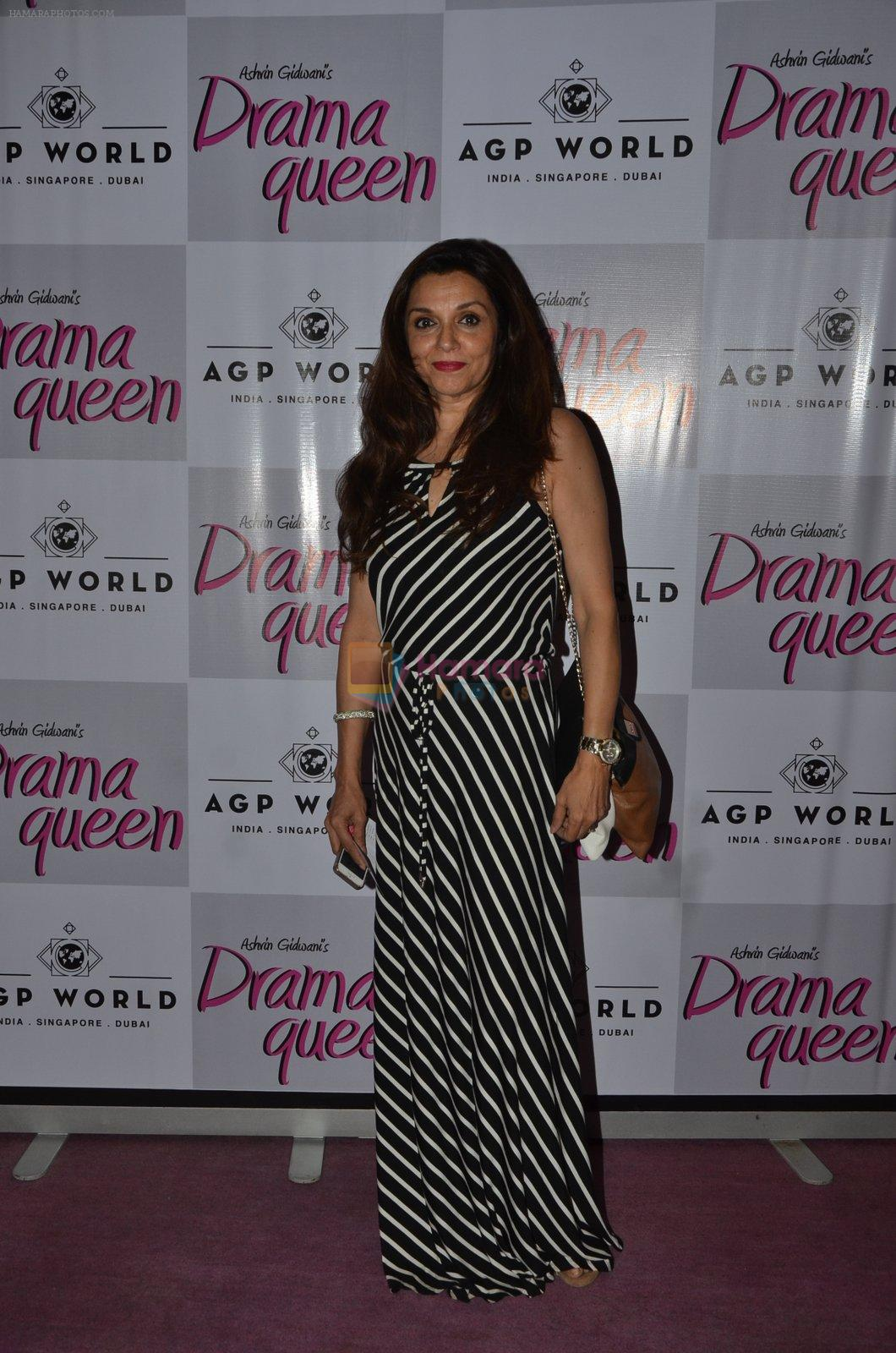 Lilette Dubey at Suchitra Krishnamurhty's play Dram Queen premiere on 2nd Oct 2016