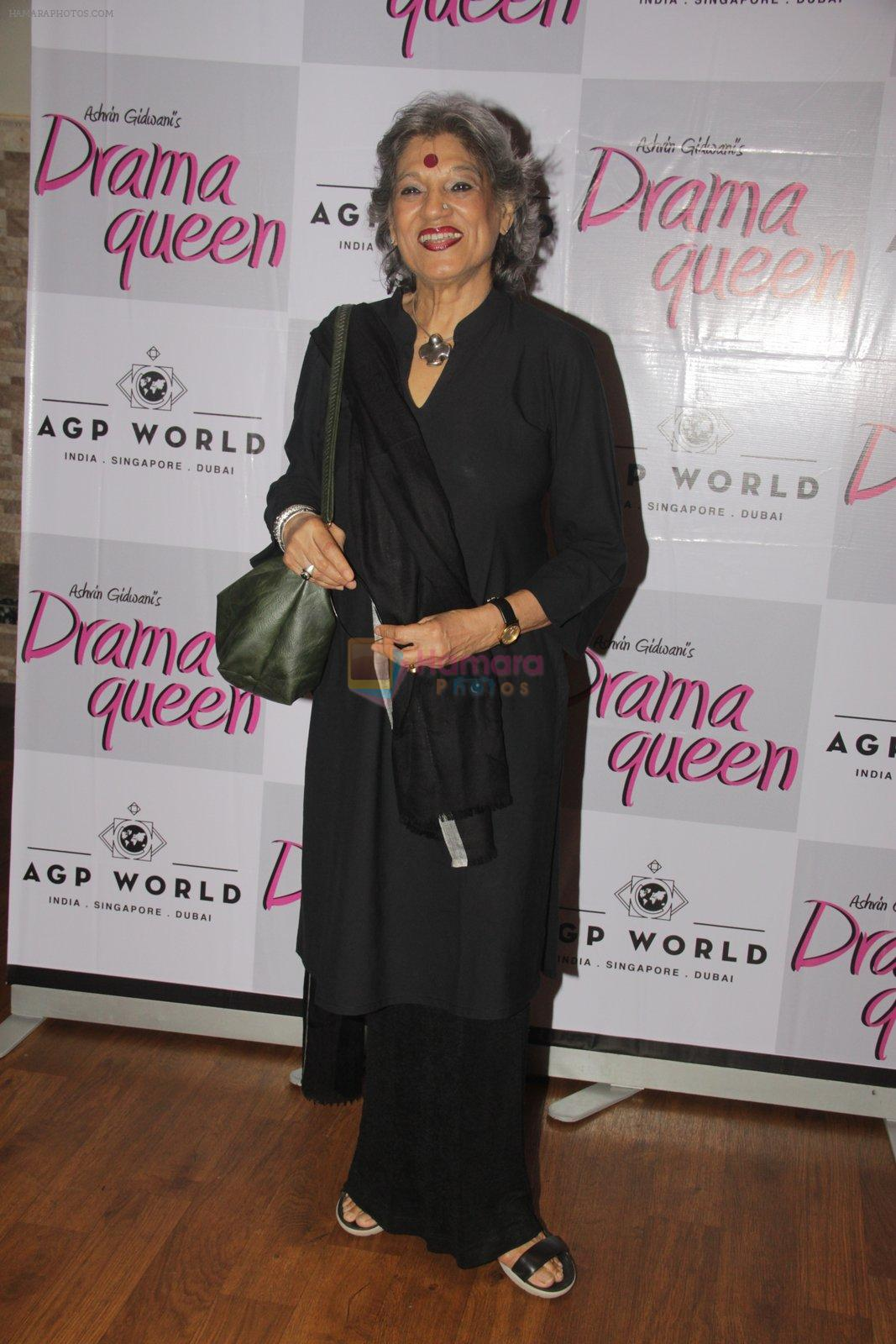 Dolly Thakore at Suchitra Krishnamurhty's play Dram Queen premiere on 2nd Oct 2016