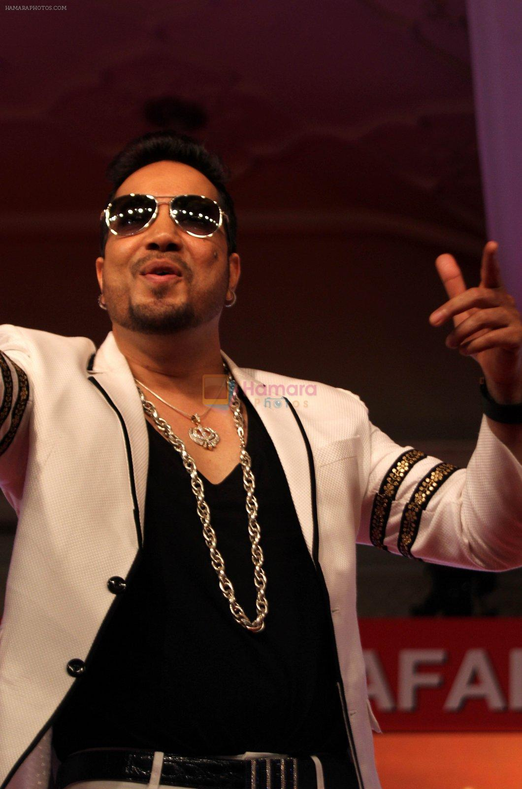 Mika Singh, Singer at India Today Safaigiri Award function , in new Delhi on Sunday -4