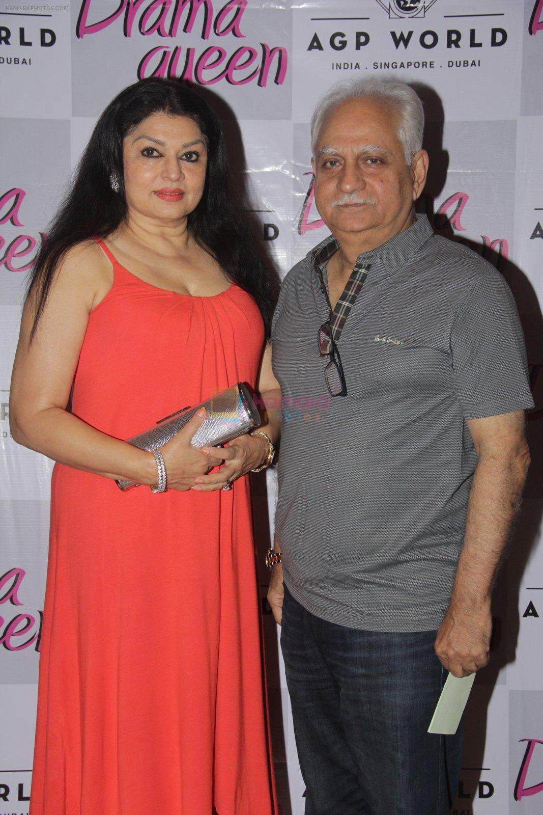 Ramesh Sippy at Suchitra Krishnamurhty's play Dram Queen premiere on 2nd Oct 2016
