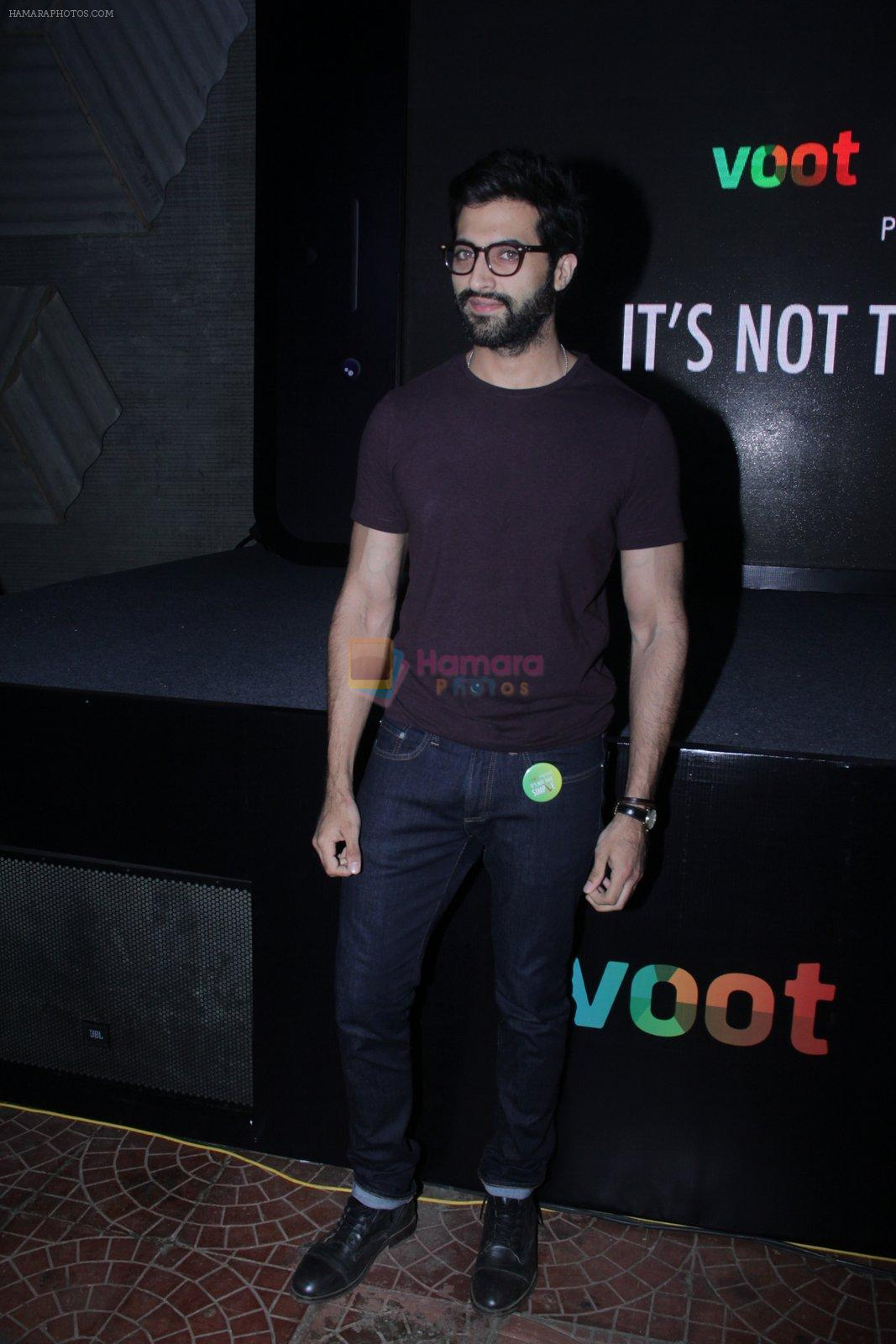 Akshay Oberoi at the screening of It�s Not That Simple on 3rd Oct 2016