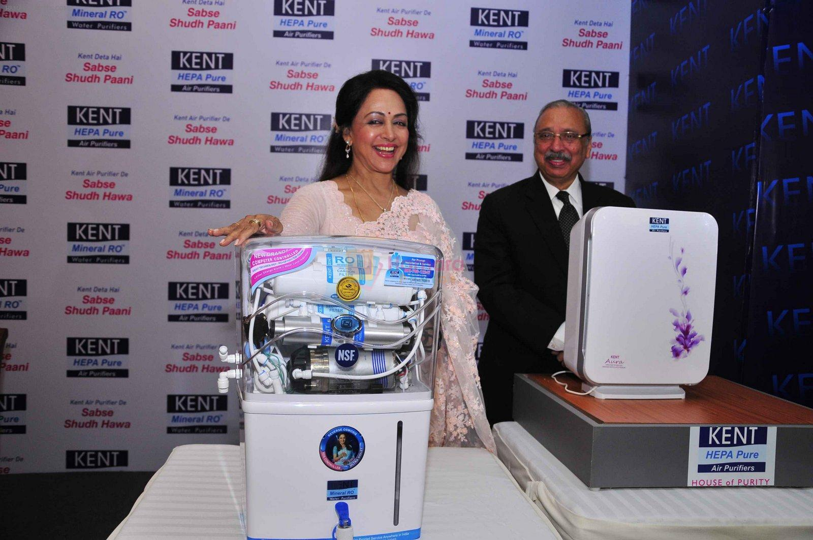 Hema Malini in Delhi for Kent promotions on 4th Oct 2016