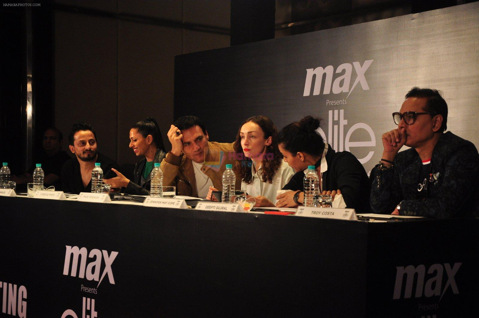 Marc Robinson at Max elite auditions in Mumbai on 3rd Oct 2016