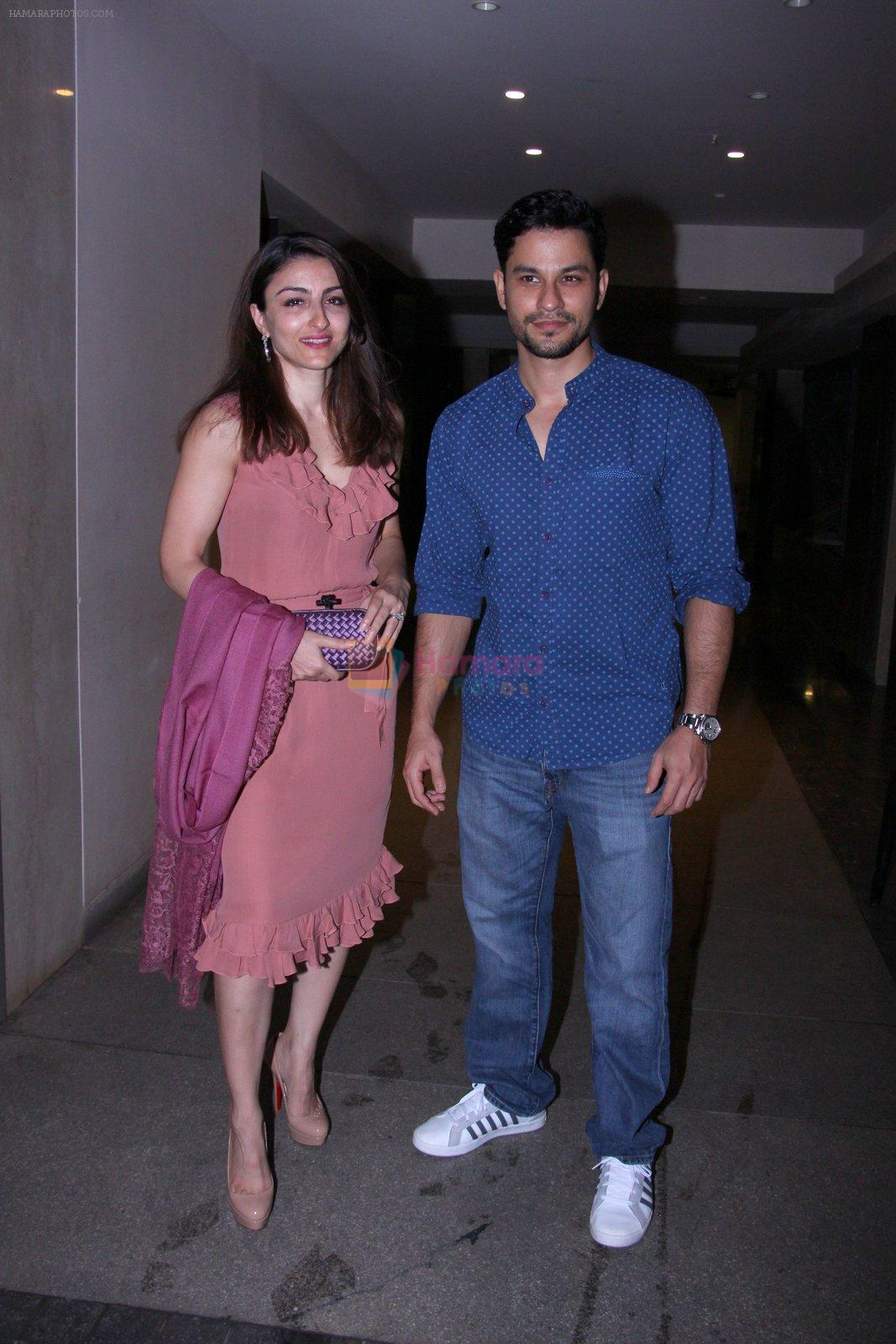 Soha Ali KHan and Kunal Khemu snapped on ocaasion of bday on 4th Oct 2016
