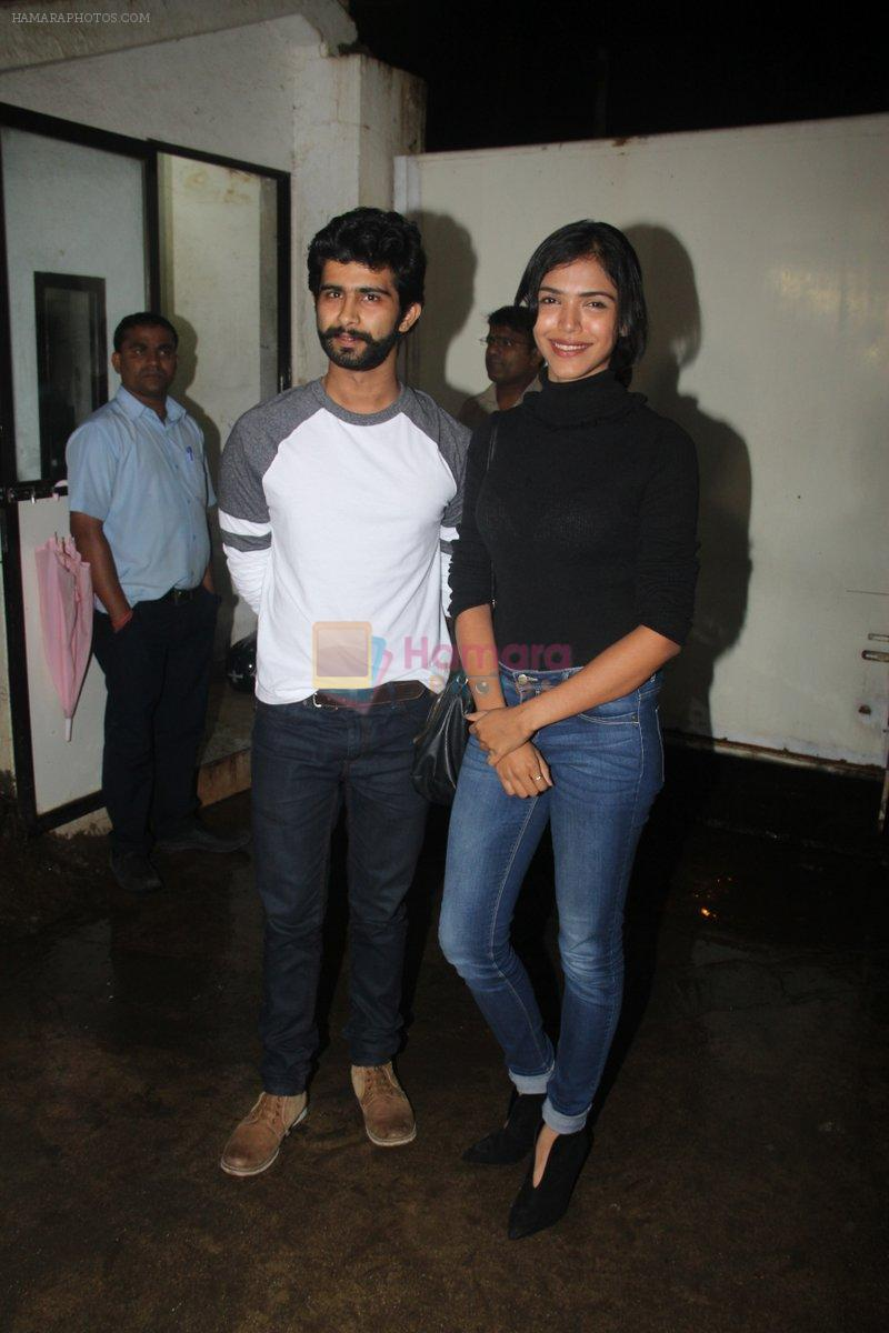 Siddharth Menon, Shriya Pilgaonkar at the Screening of Queen of Katwe in Sunny Super Sound on 4th Oct 2016