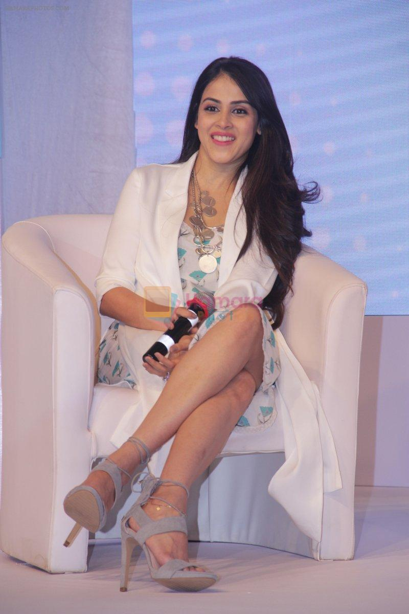 Genelia D Souza at launch of Baby Dove in India on 4th Oct 2016