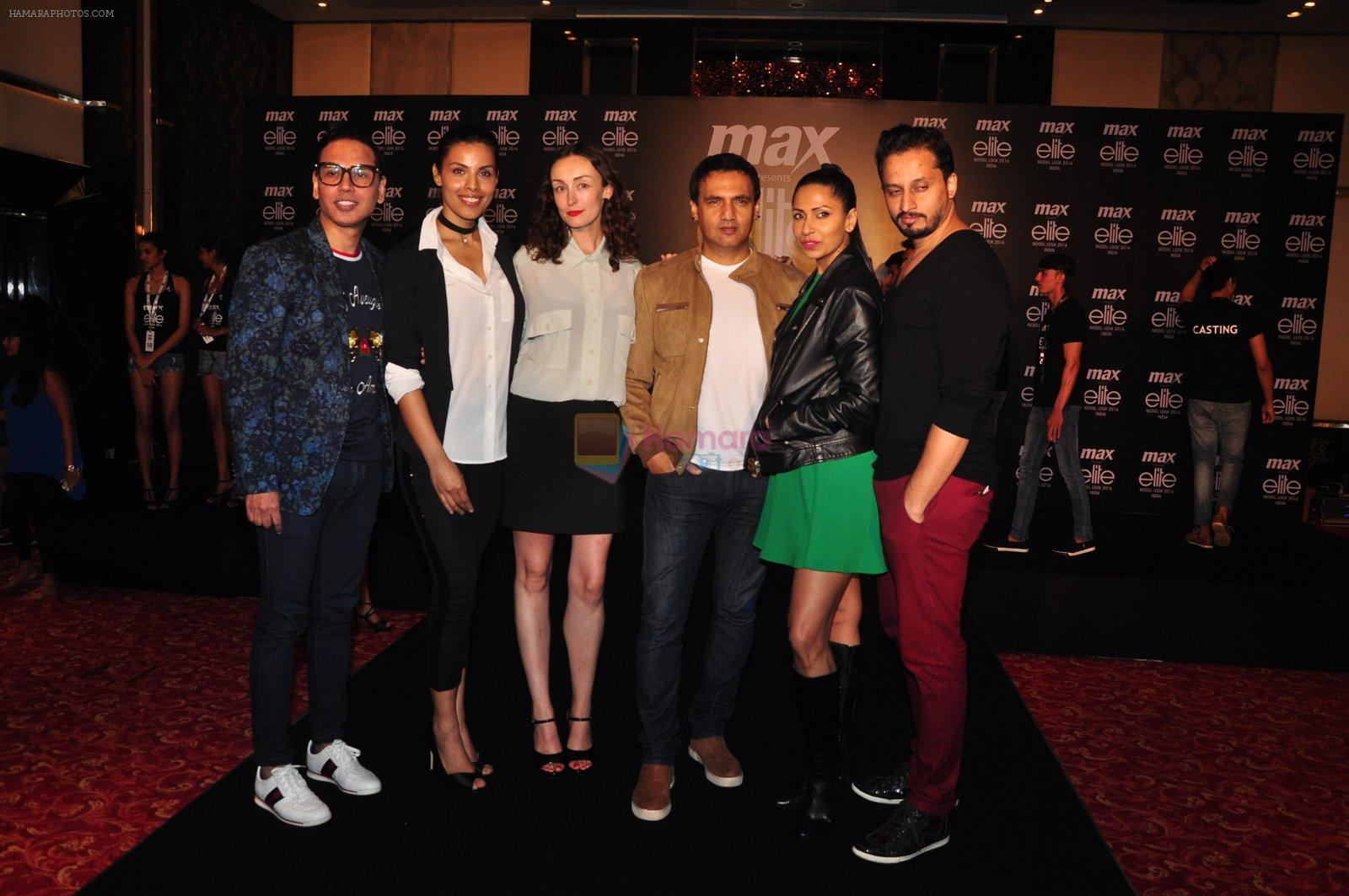 Deepti Gujral, Marc Robinson, Candice Pinto at Max elite auditions in Mumbai on 3rd Oct 2016