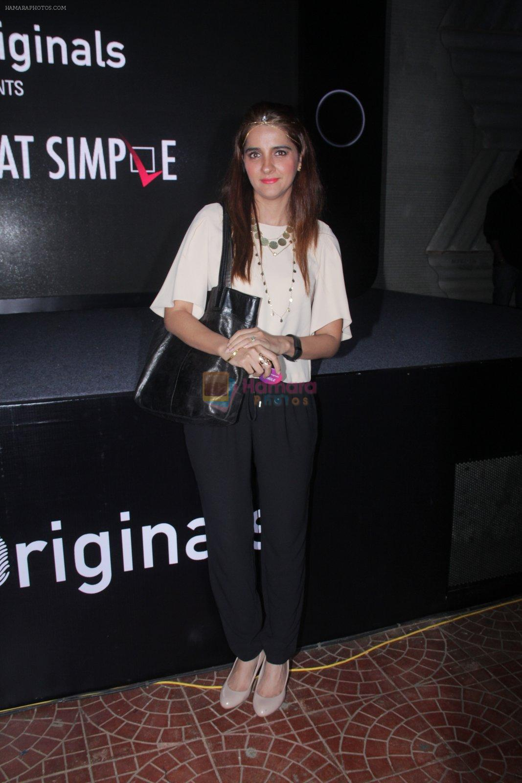 Shruti Seth at the screening of It�s Not That Simple on 3rd Oct 2016
