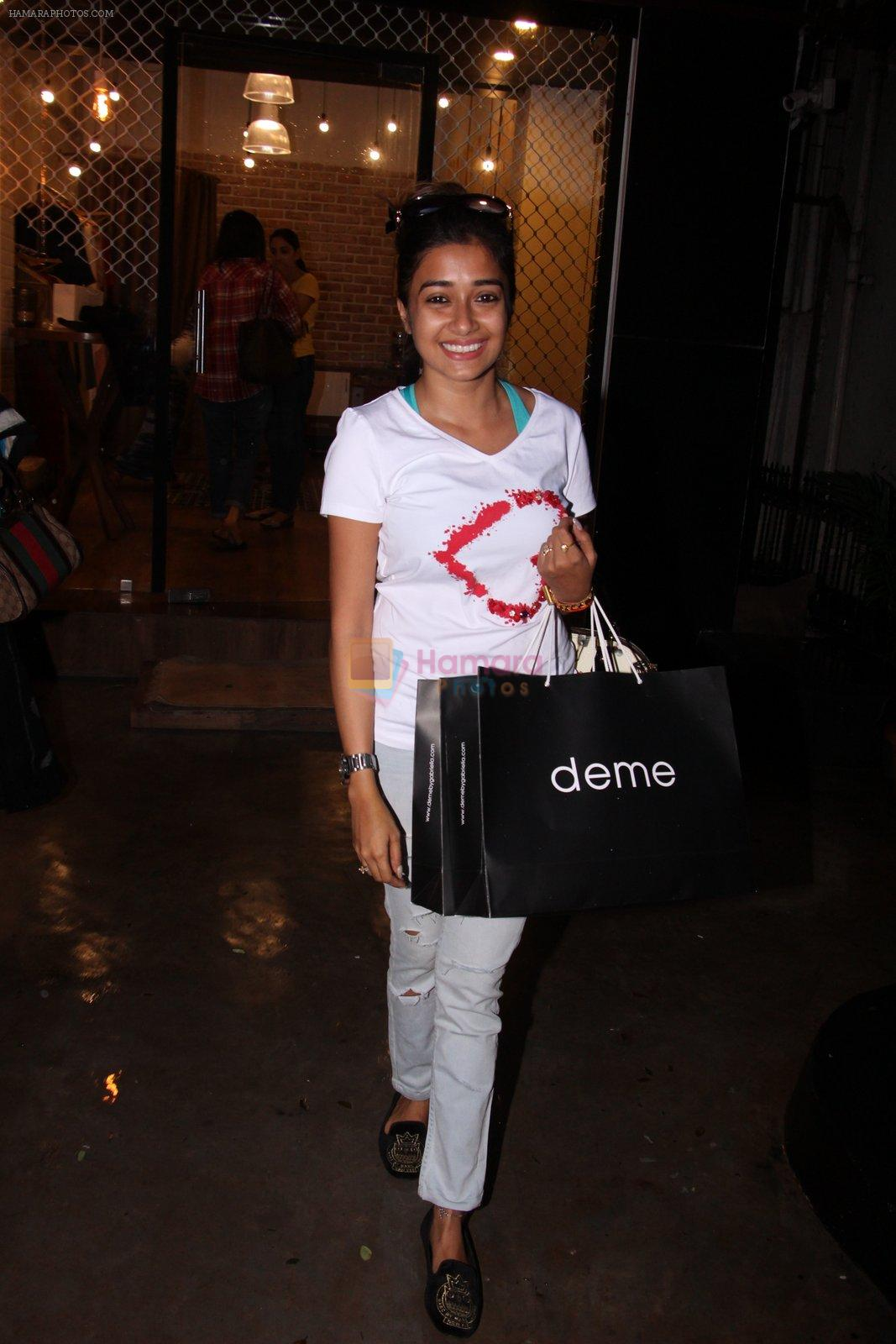 Tina Dutta snapped in Mumbai on 4th Oct 2016