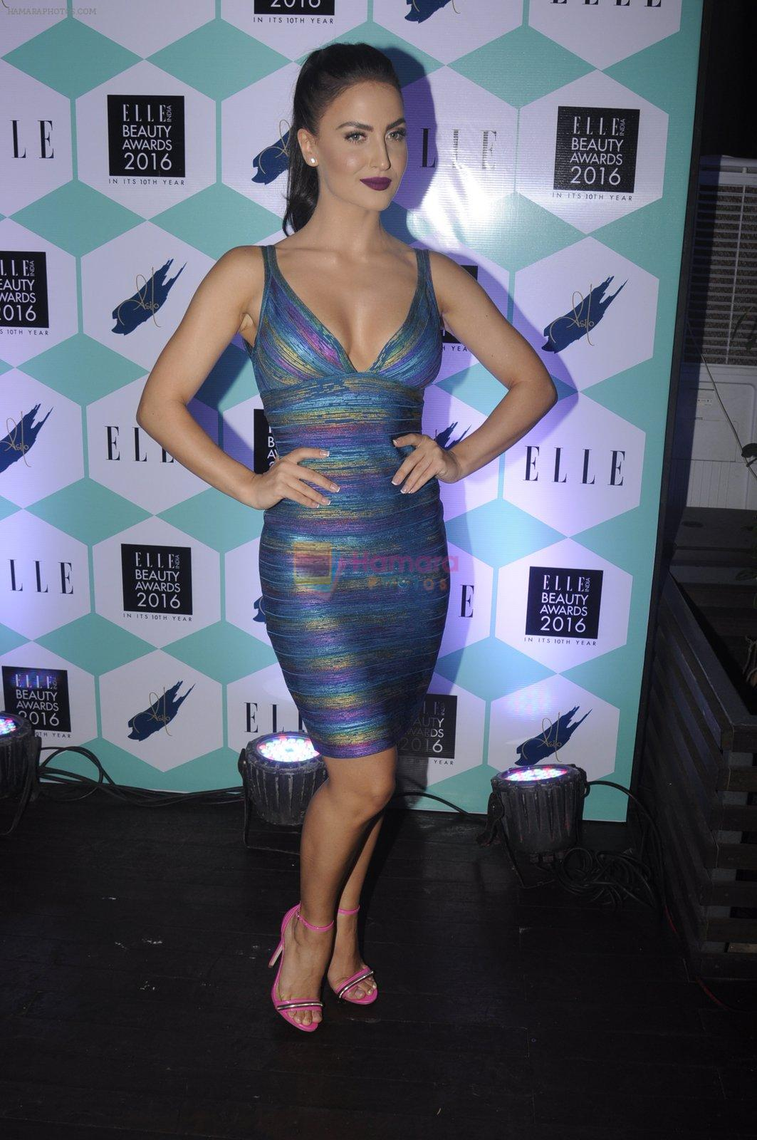 Elli Avram at Elle Beauty Awards on 5th Oct 2016