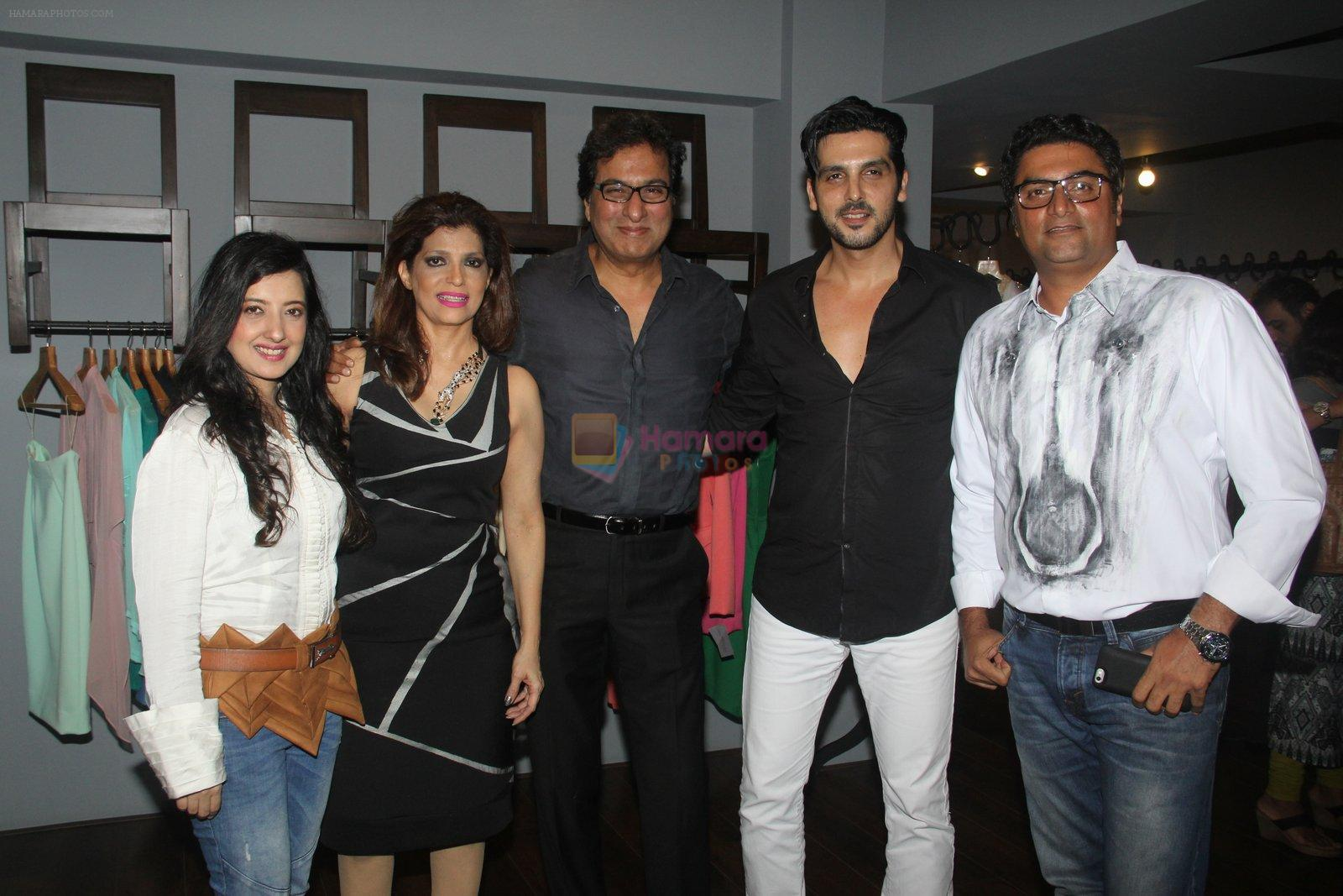 Zayed Khan at Amy Billimoria's preview in Mumbai on 4th Oct 2016