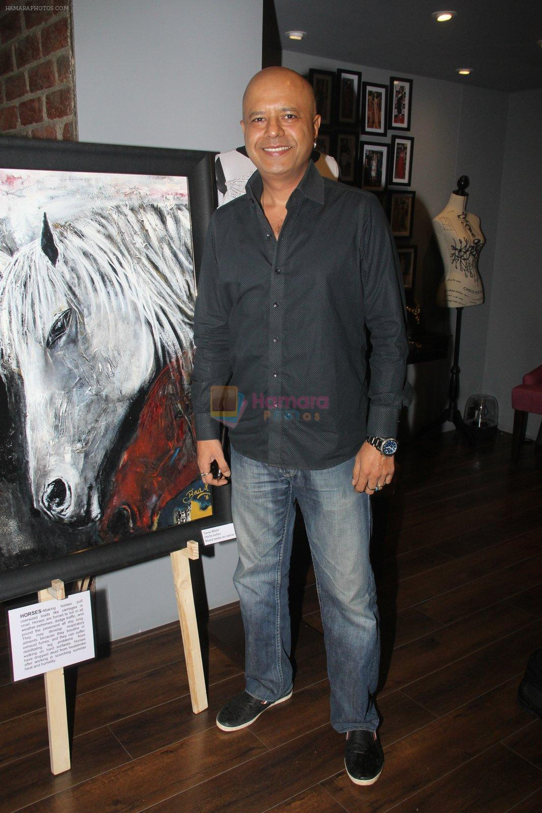 Naved Jaffrey at Amy Billimoria's preview in Mumbai on 4th Oct 2016