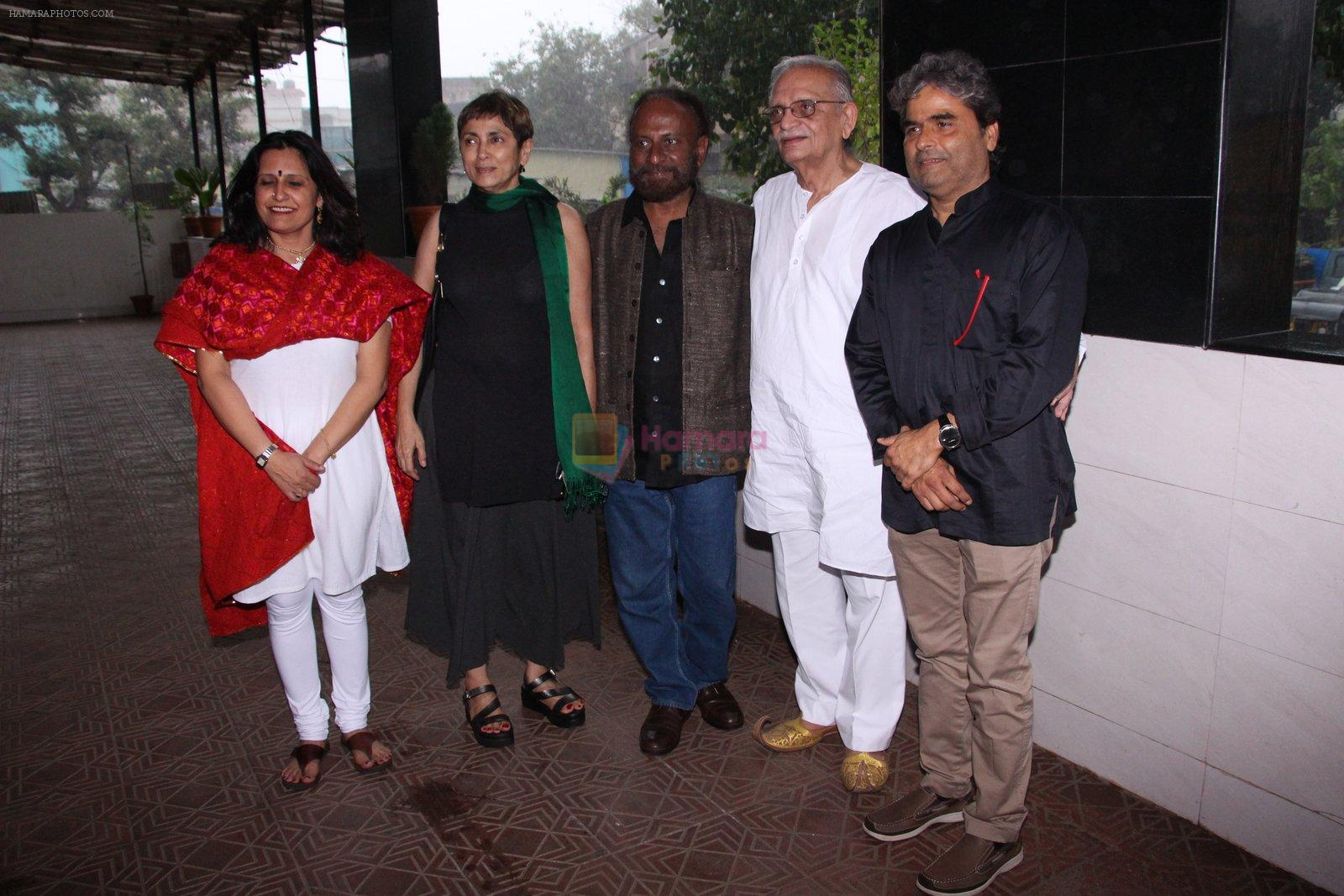 Gulzar, Vishal Bharadwaj at the music launch of Motu Patlu-bKing of Kings 3D on 4th Oct 2016