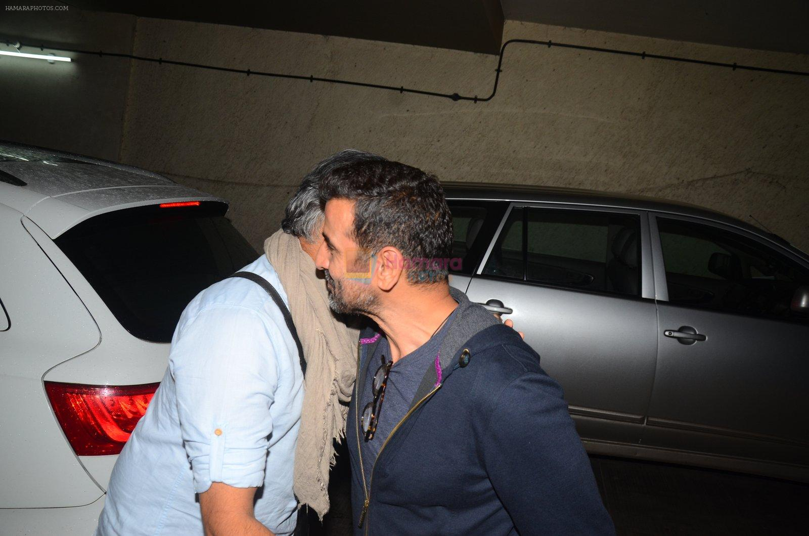 Abhinay Deo at Mirzya screening on 4th Oct 2016