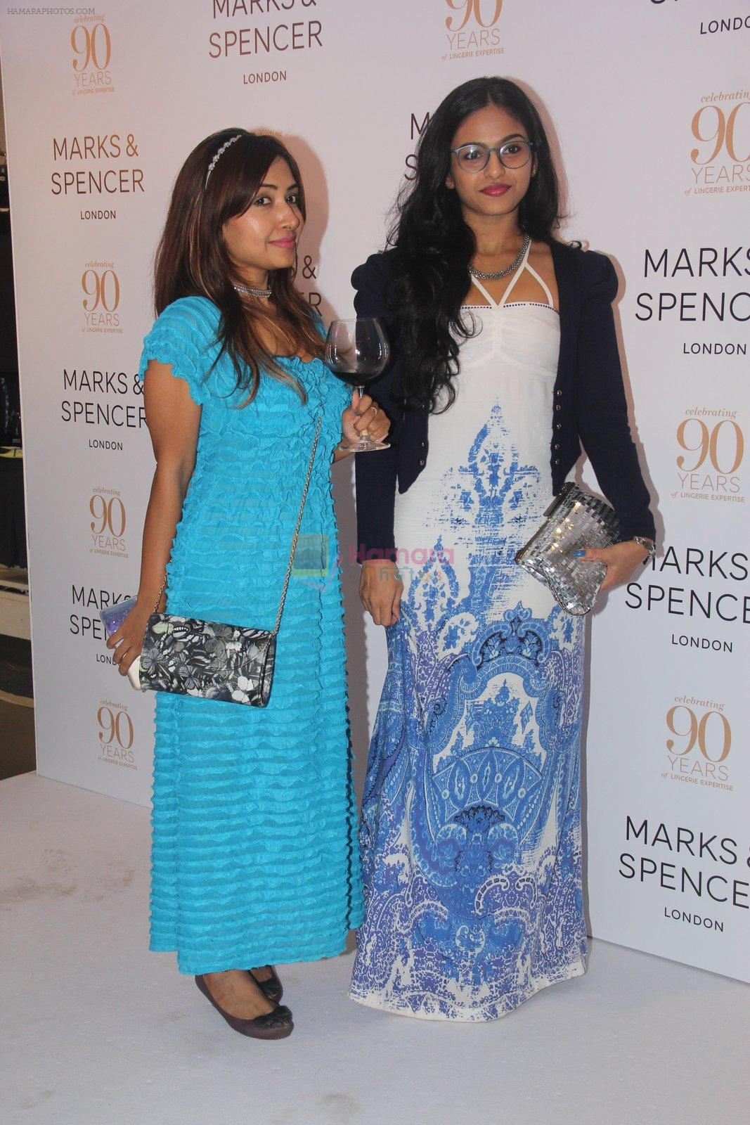 Ami Patel conducts workshop with Marks N Spencer on 5th Oct 2016