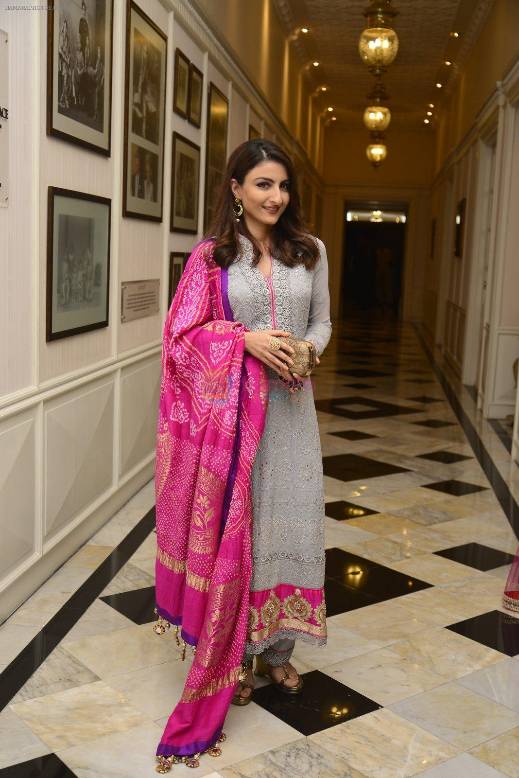 Soha Ali Khan at Maheka Mirpuri Show on 5th Oct 2016