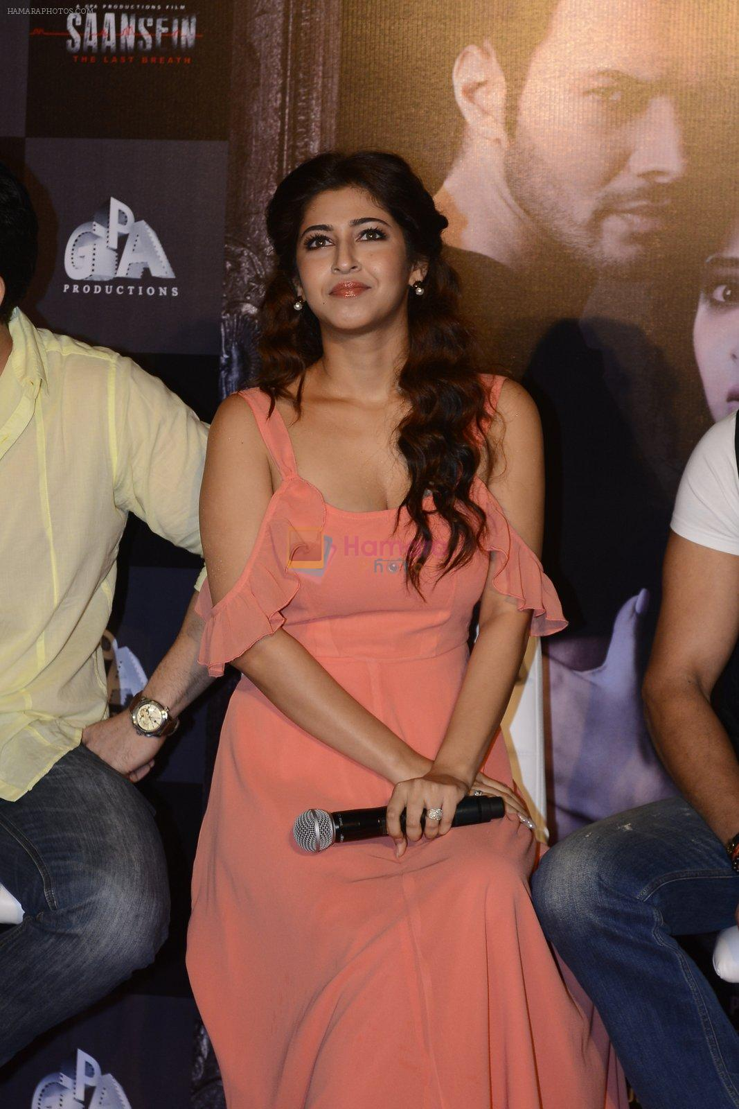 Sonarika Bhadoria at Trailer launch of Saansein on 5th Oct 2016