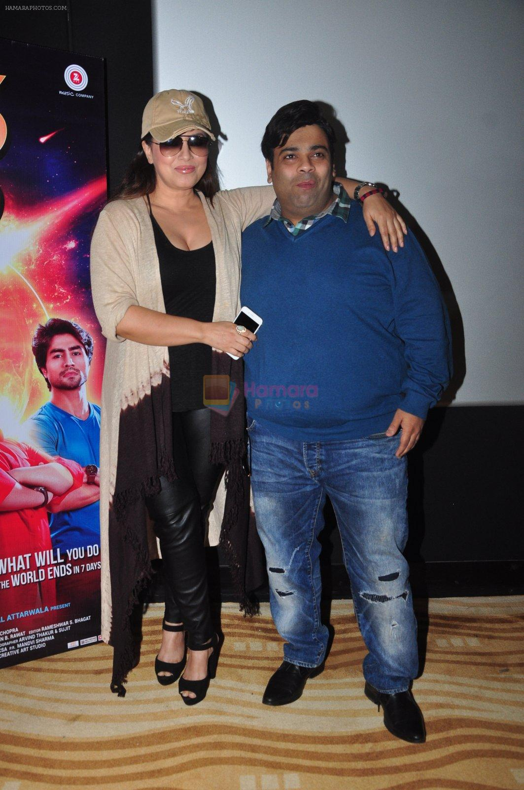 Mahima Chaudhry, Kiku Sharda at the Trailer launch of film 2016 The End on 6th Oct 2016