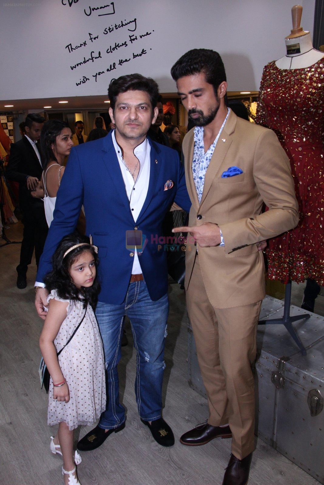 Saqib Saleem at Tanzila Antulay store preview on 6th Oct 2016