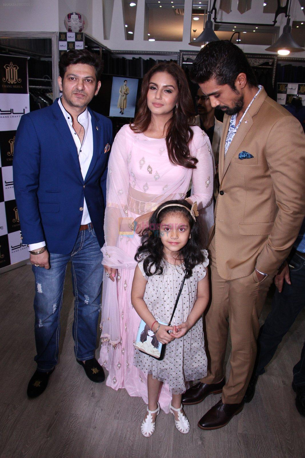 Huma Qureshi, Saqib Saleem at Tanzila Antulay store preview on 6th Oct 2016