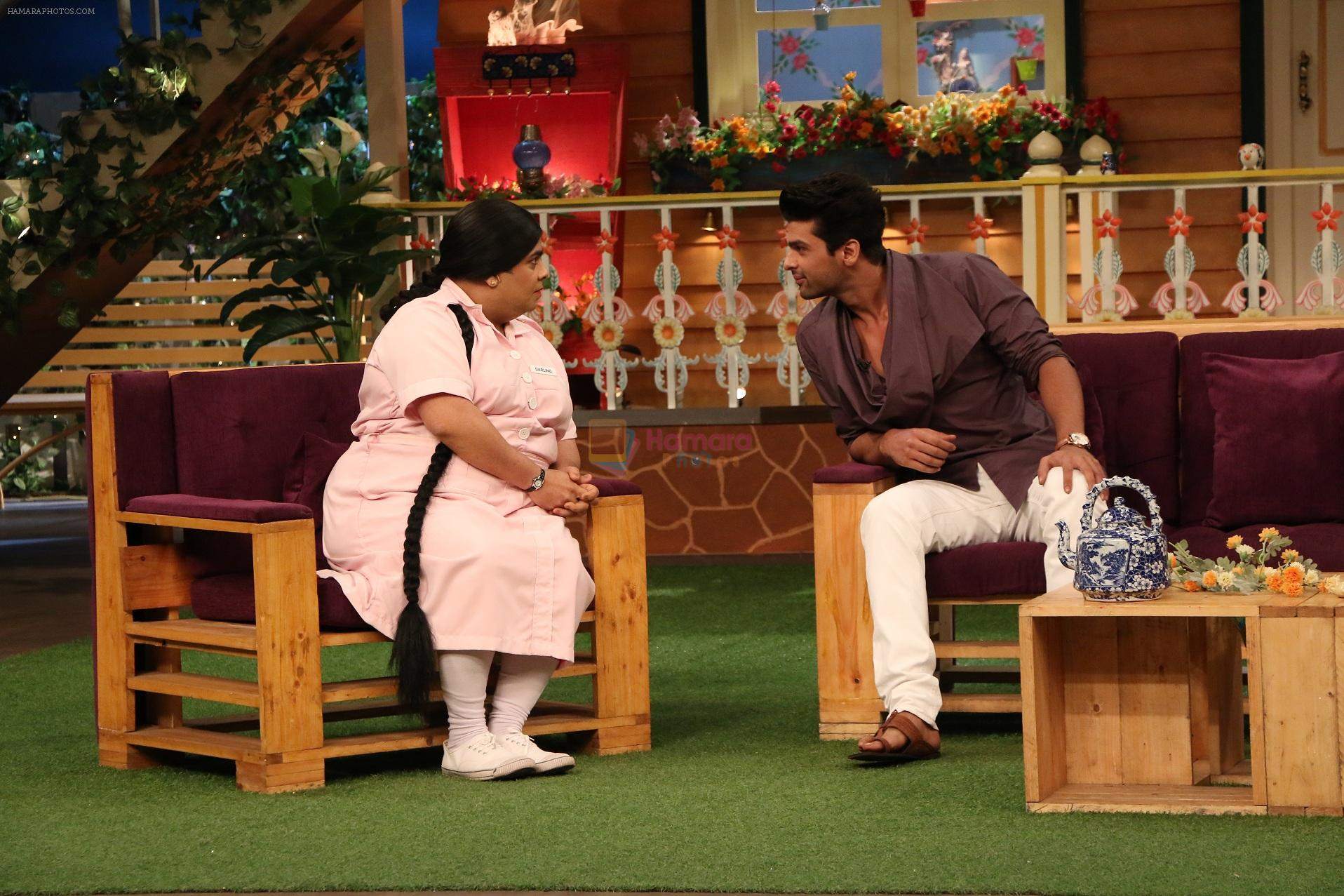 Kushal Tandon promote Beyhadh on the sets of The Kapil Sharma Show on 5th oct 2016
