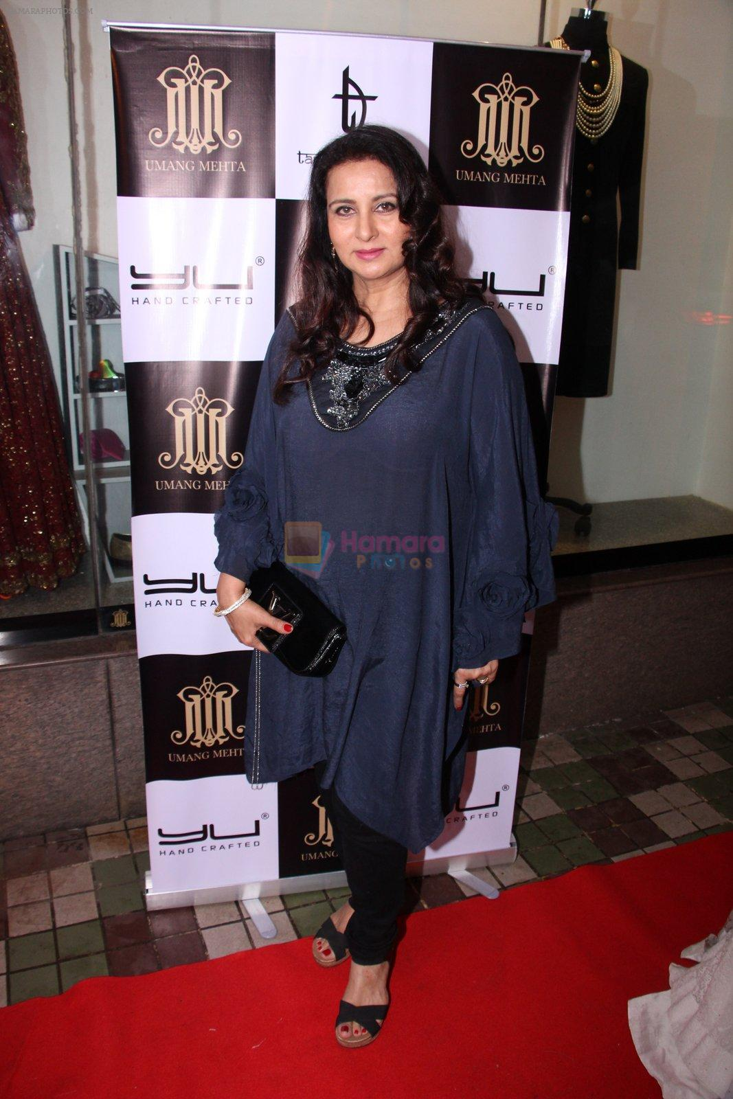 Poonam Dhillon at Tanzila Antulay store preview on 6th Oct 2016