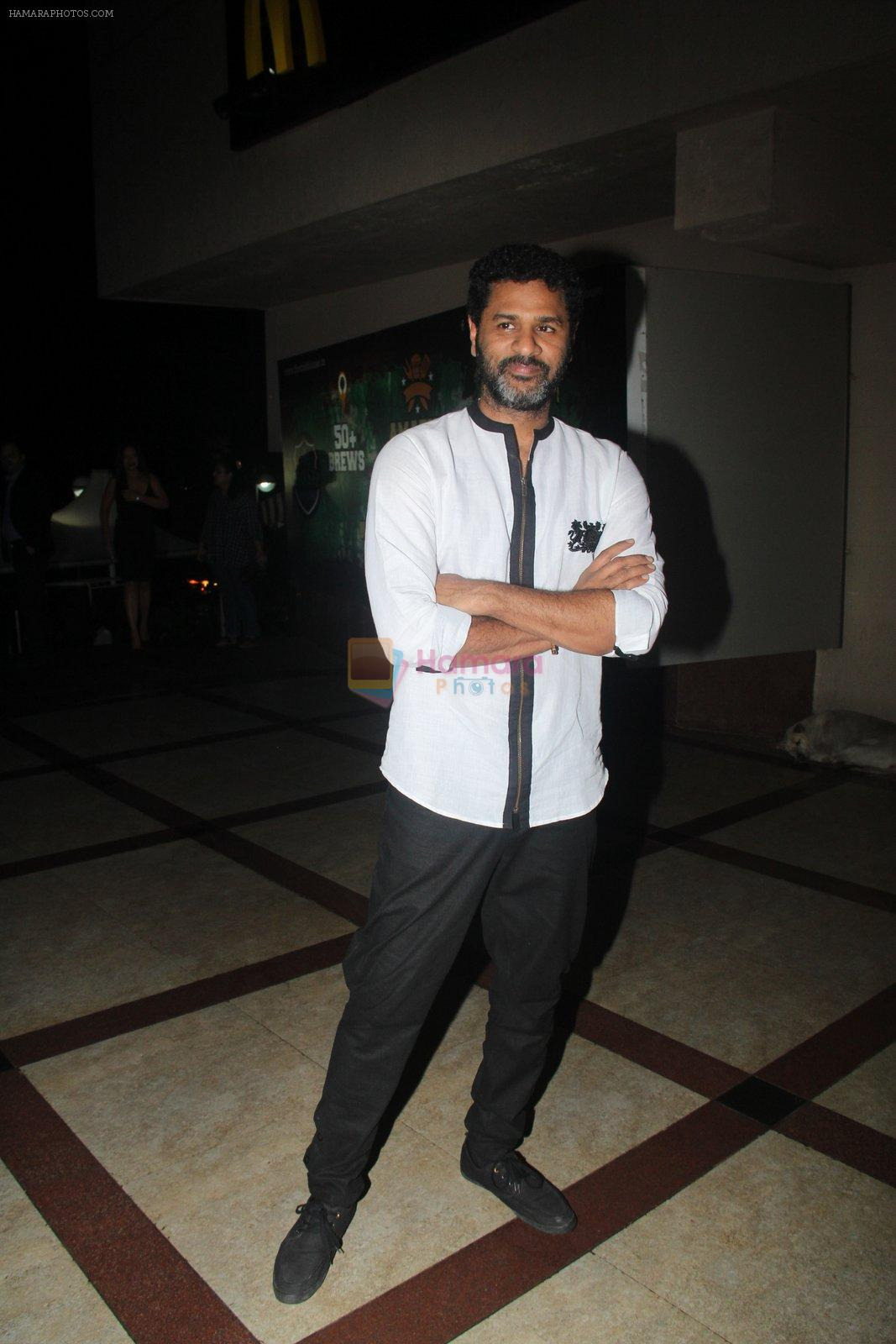 Prabhu Deva at Tutak Tutak Tutiya premiere on 6th Oct 2016