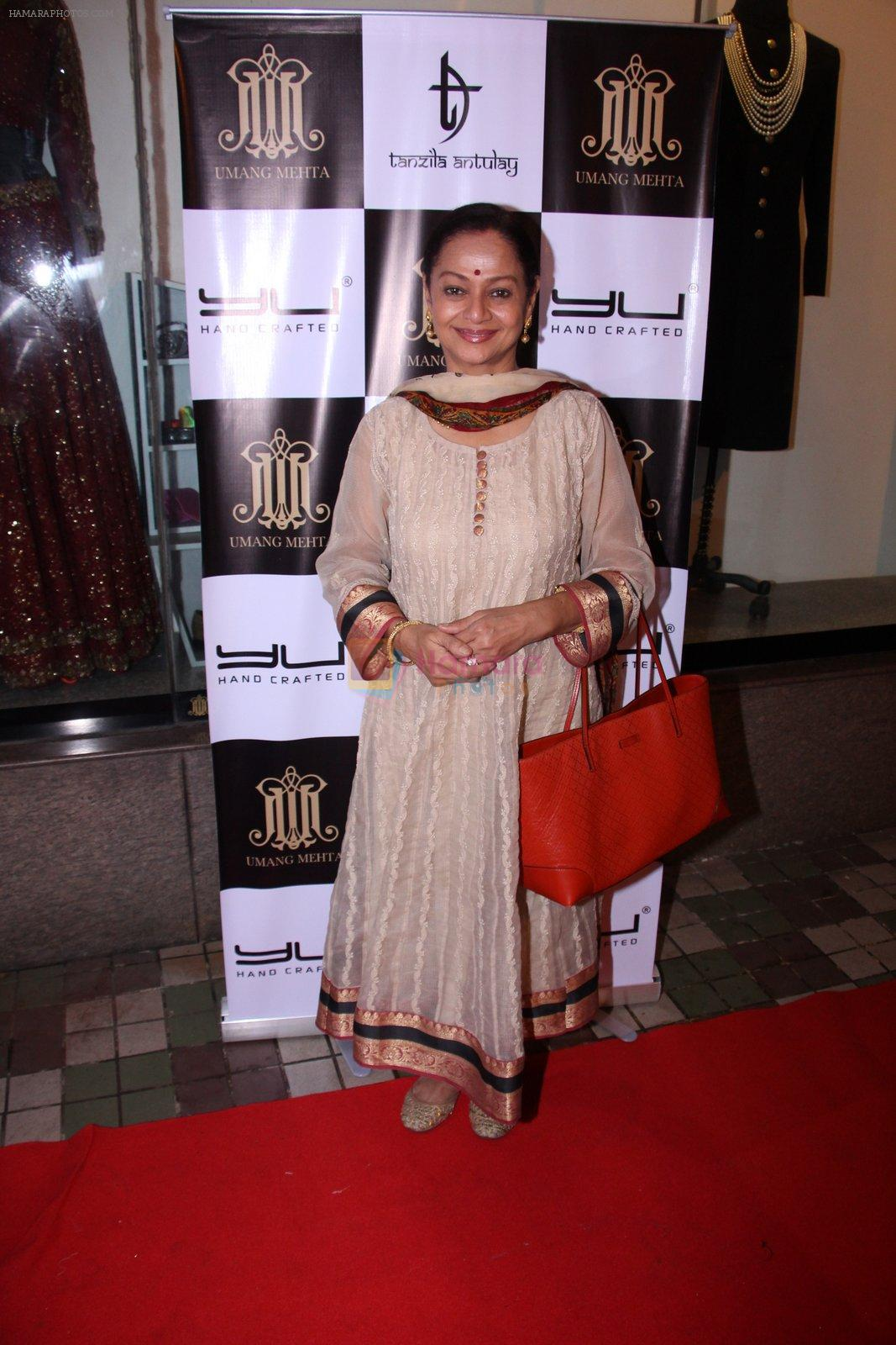 Zarina Wahab at Tanzila Antulay store preview on 6th Oct 2016