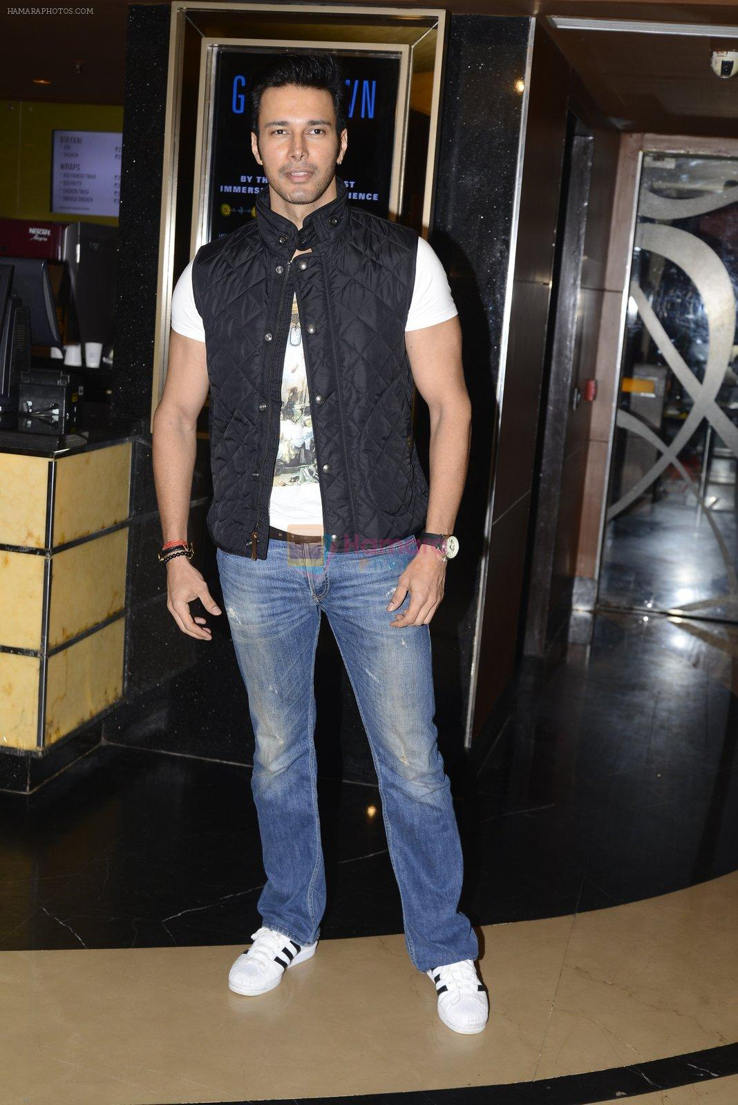 Rajneesh Duggal at Trailer launch of Saansein on 5th Oct 2016