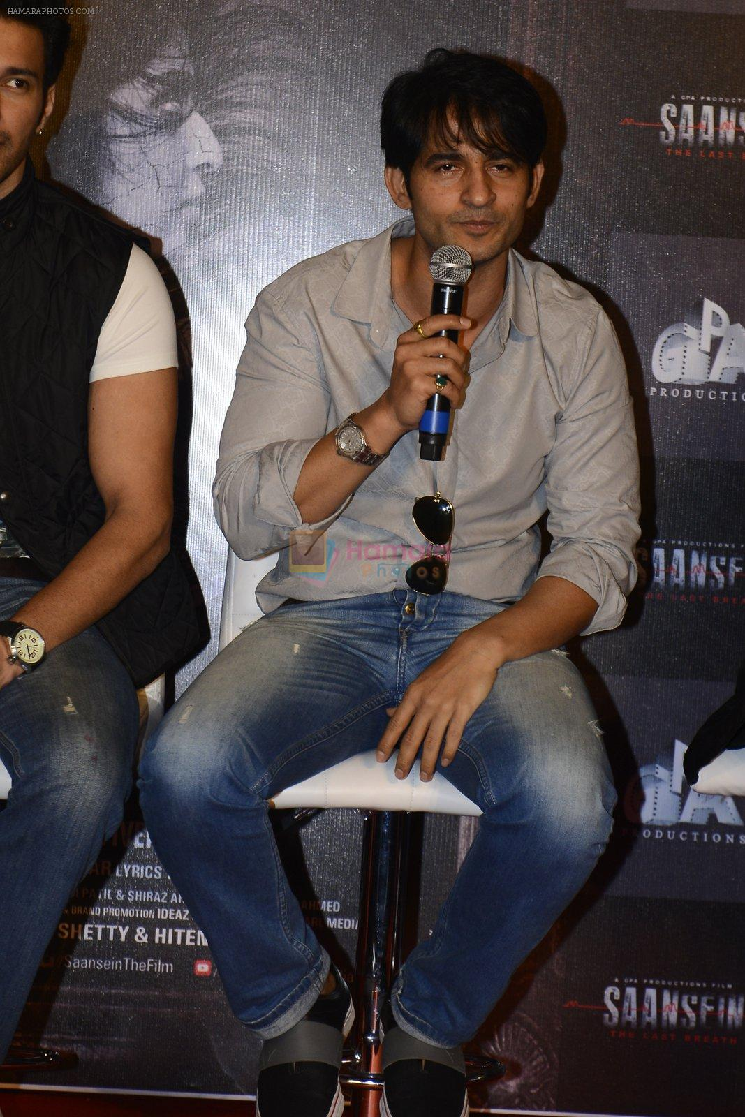 Hiten Tejwani at Trailer launch of Saansein on 5th Oct 2016