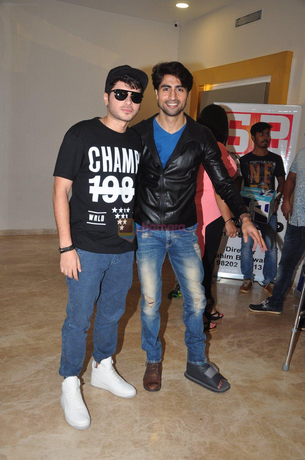 Divyendu Sharma, Harshad Chopra at the Trailer launch of film 2016 The End on 6th Oct 2016