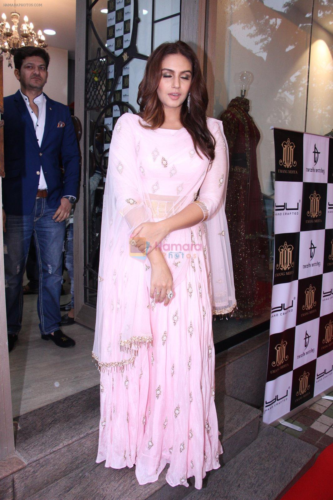 Huma Qureshi at Tanzila Antulay store preview on 6th Oct 2016