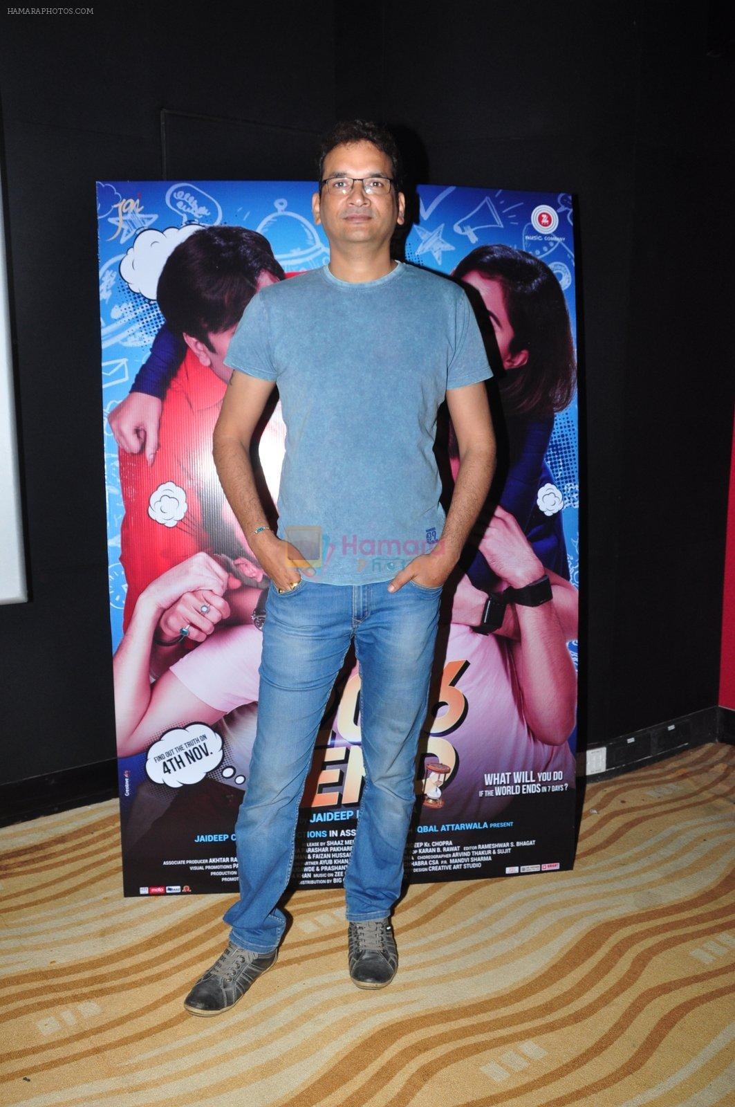 Jaideep Chopra at the Trailer launch of film 2016 The End on 6th Oct 2016