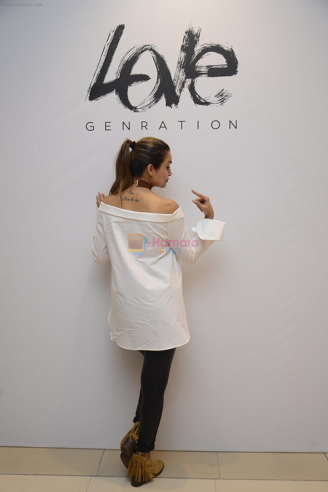 Amrita Arora at Love Generation launch at Shoppers Stop on 7th Oct 2016