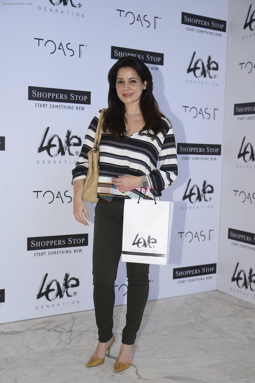 Neelam Kothari at Love Generation launch at Shoppers Stop on 7th Oct 2016