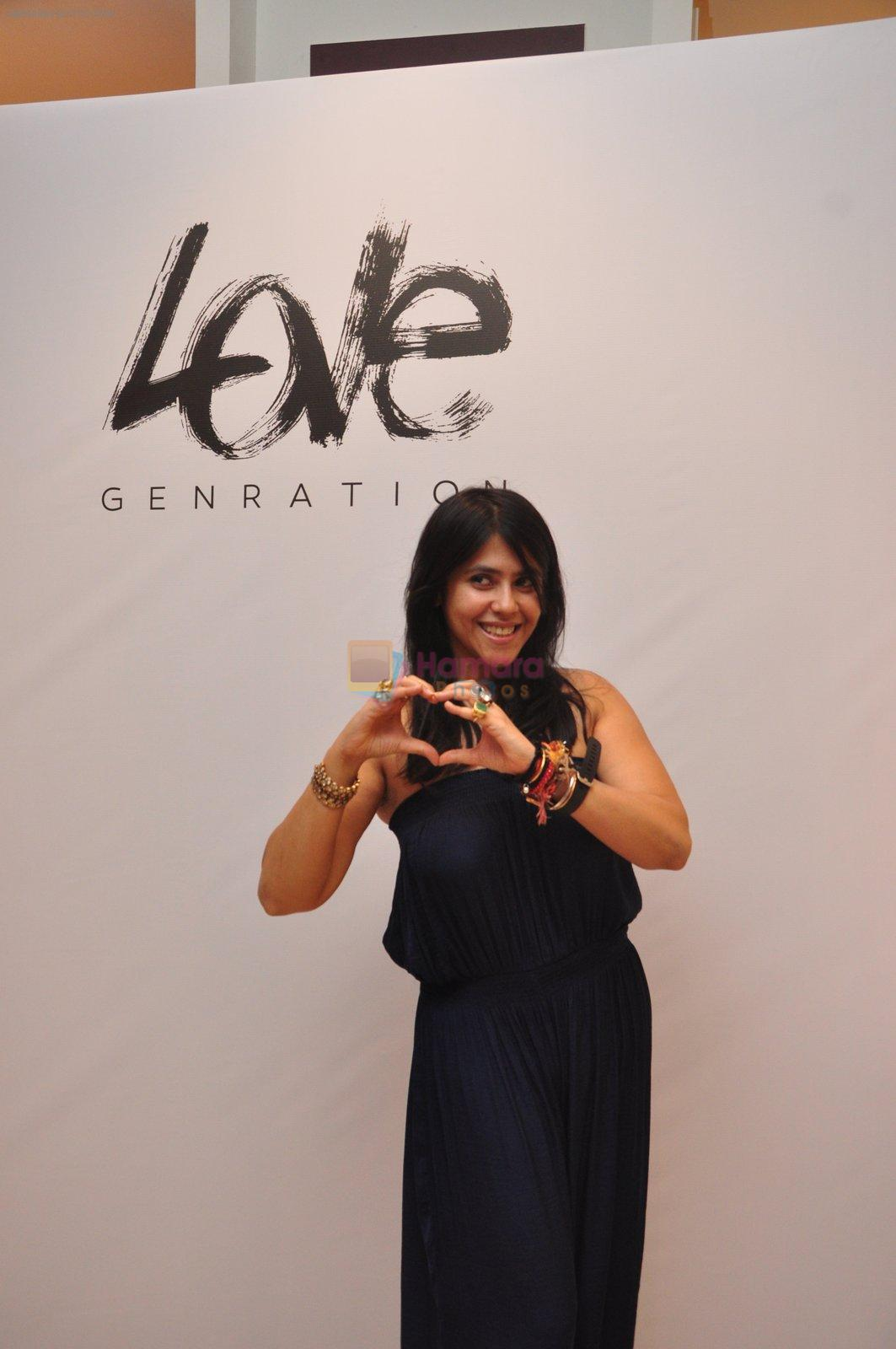 Ekta Kapoor at Love Generation launch at Shoppers Stop on 7th Oct 2016