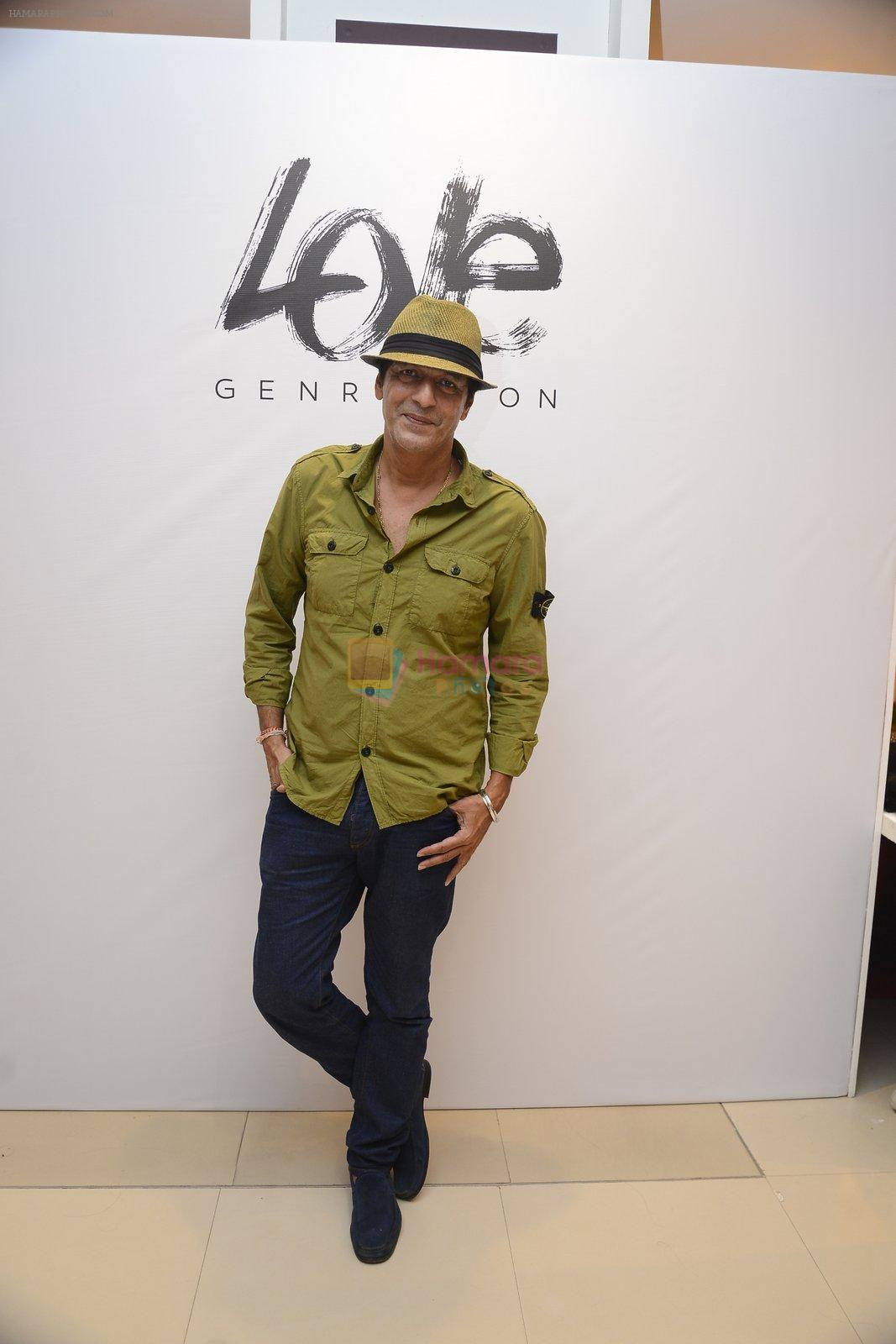 Chunky Pandey at Love Generation launch at Shoppers Stop on 7th Oct 2016