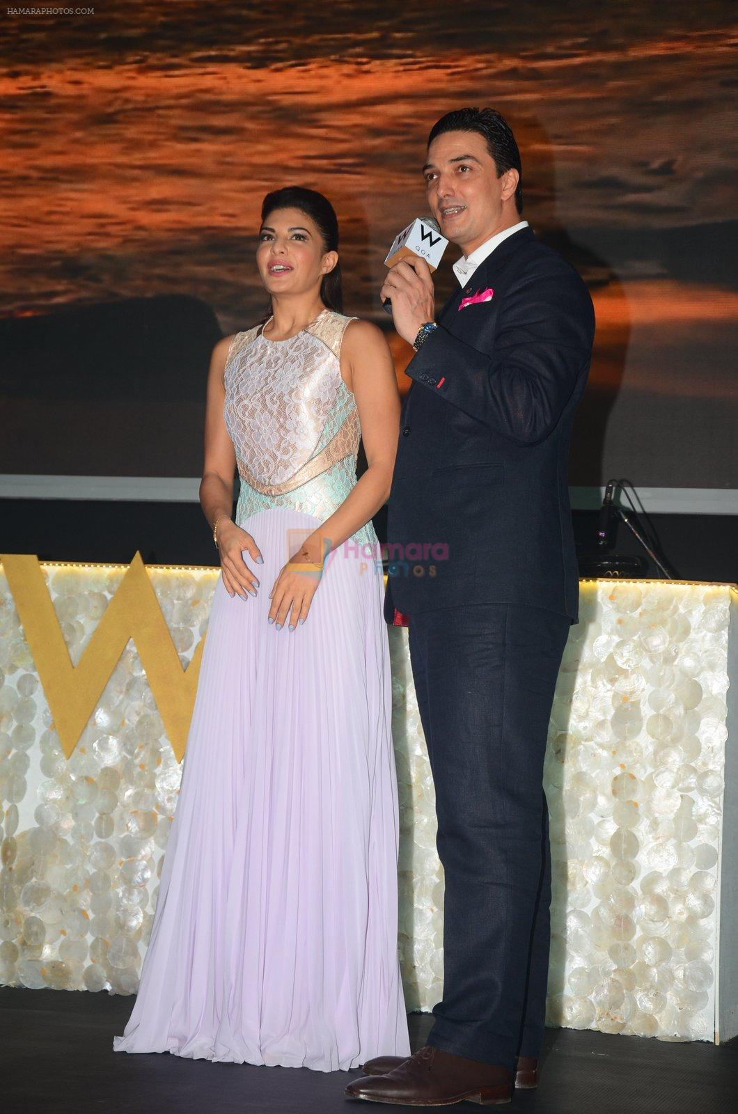 Jacqueline Fernandez at W Goa launch party on 7th Oct 2016