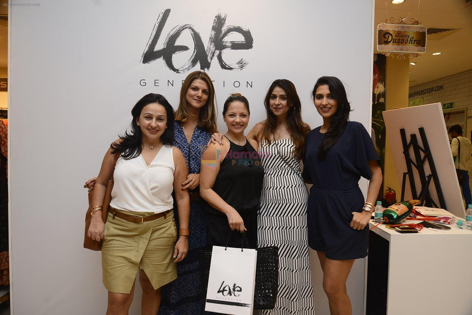 Nandita Mahtani at Love Generation launch at Shoppers Stop on 7th Oct 2016