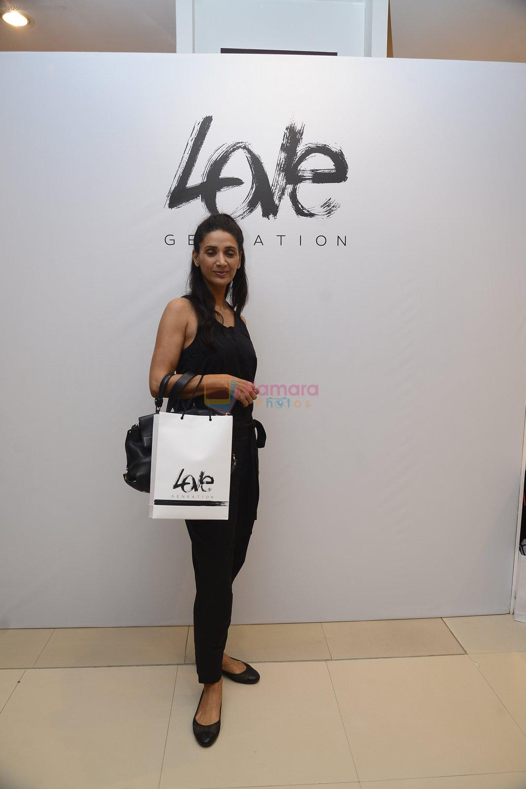 Mehr Jessia at Love Generation launch at Shoppers Stop on 7th Oct 2016