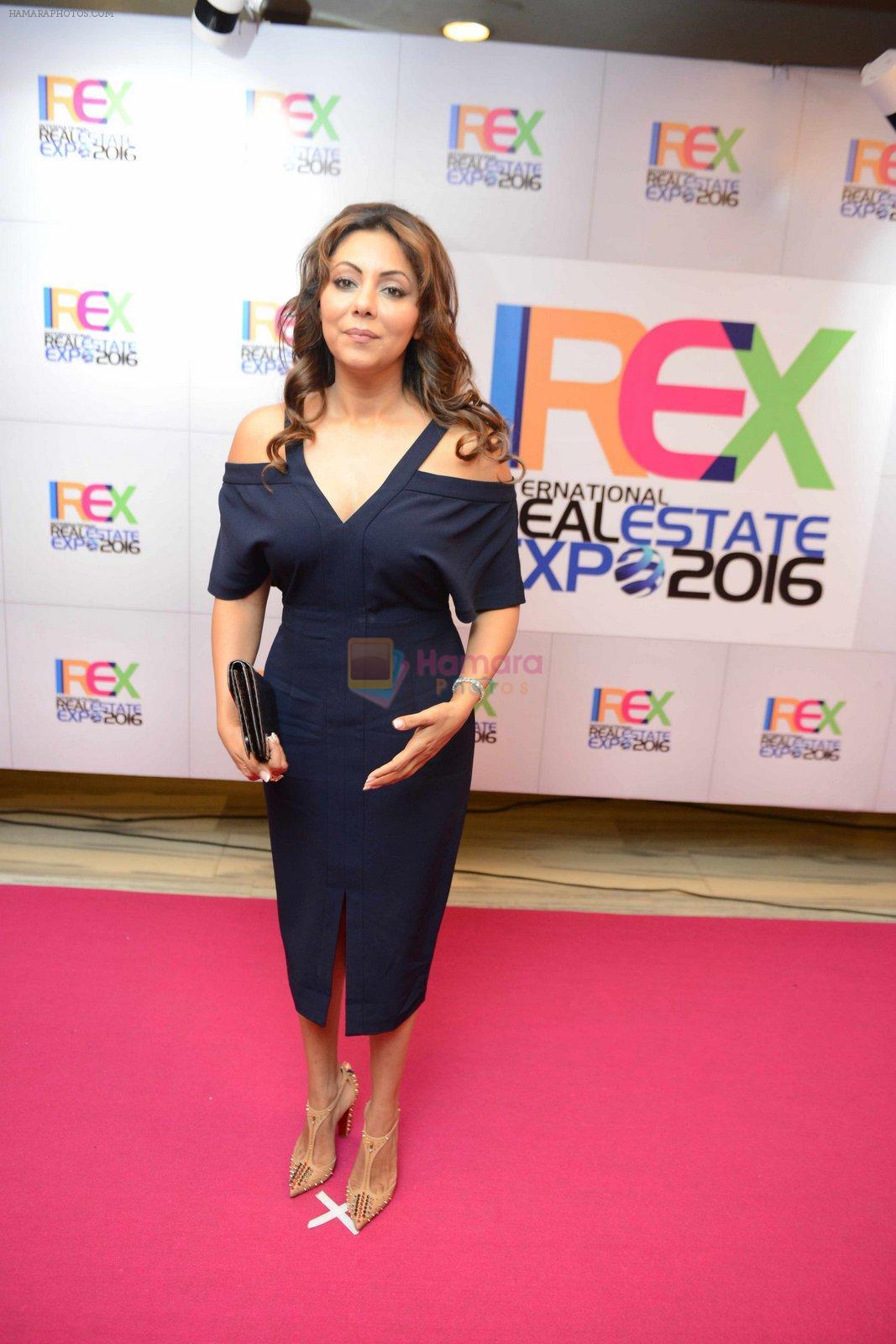 Gauri Khan inaugurates IREX in Mumbai on 7th Oct 2016