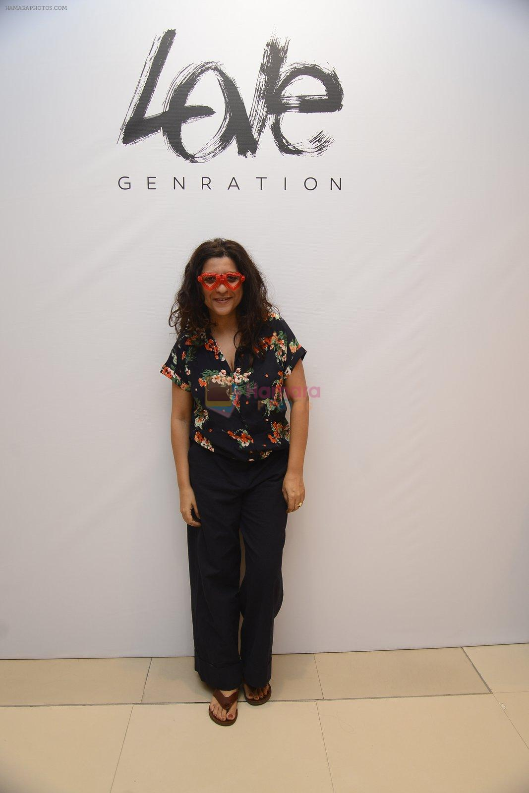 Zoya Akhar at Love Generation launch at Shoppers Stop on 7th Oct 2016