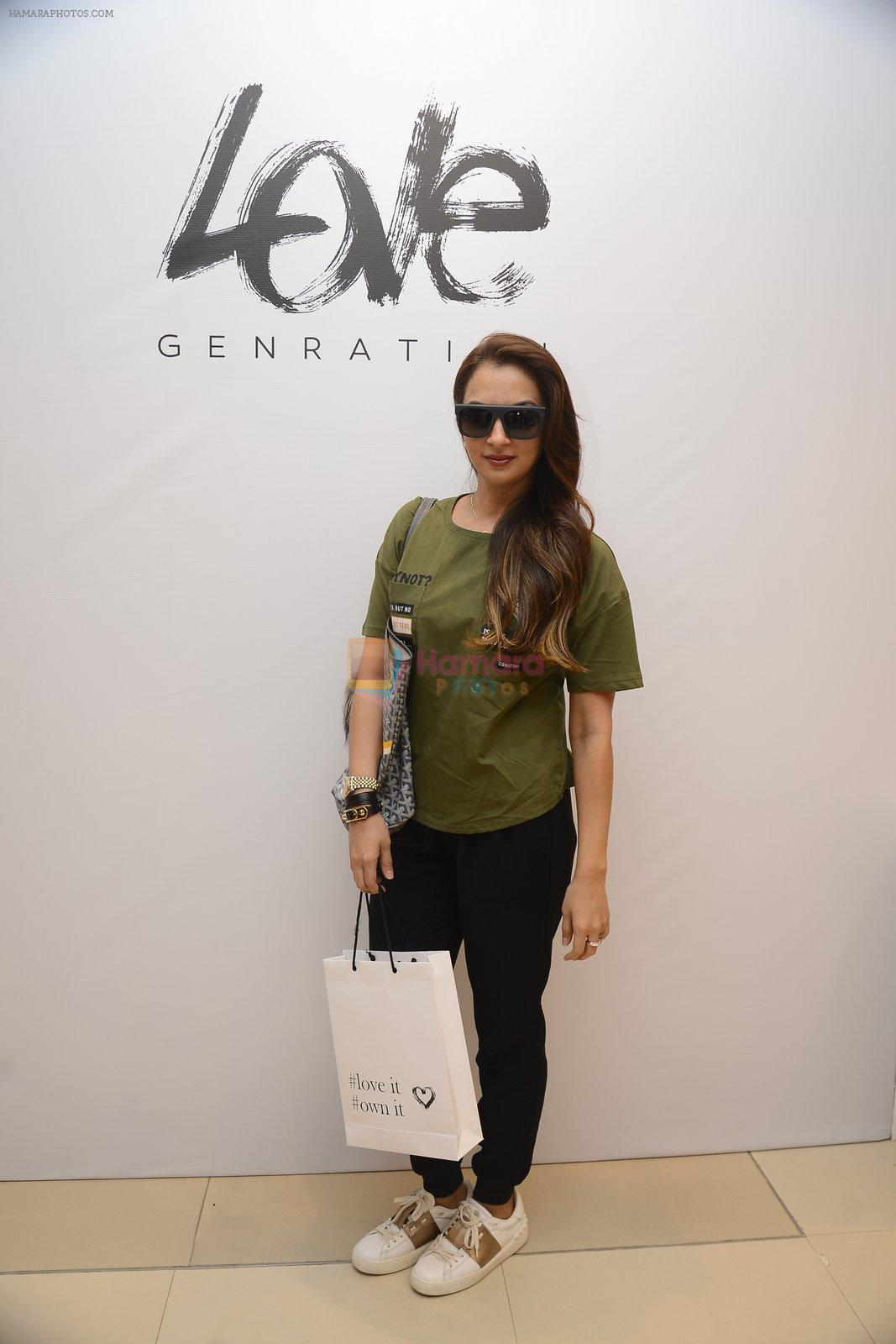 Seema Khan at Love Generation launch at Shoppers Stop on 7th Oct 2016